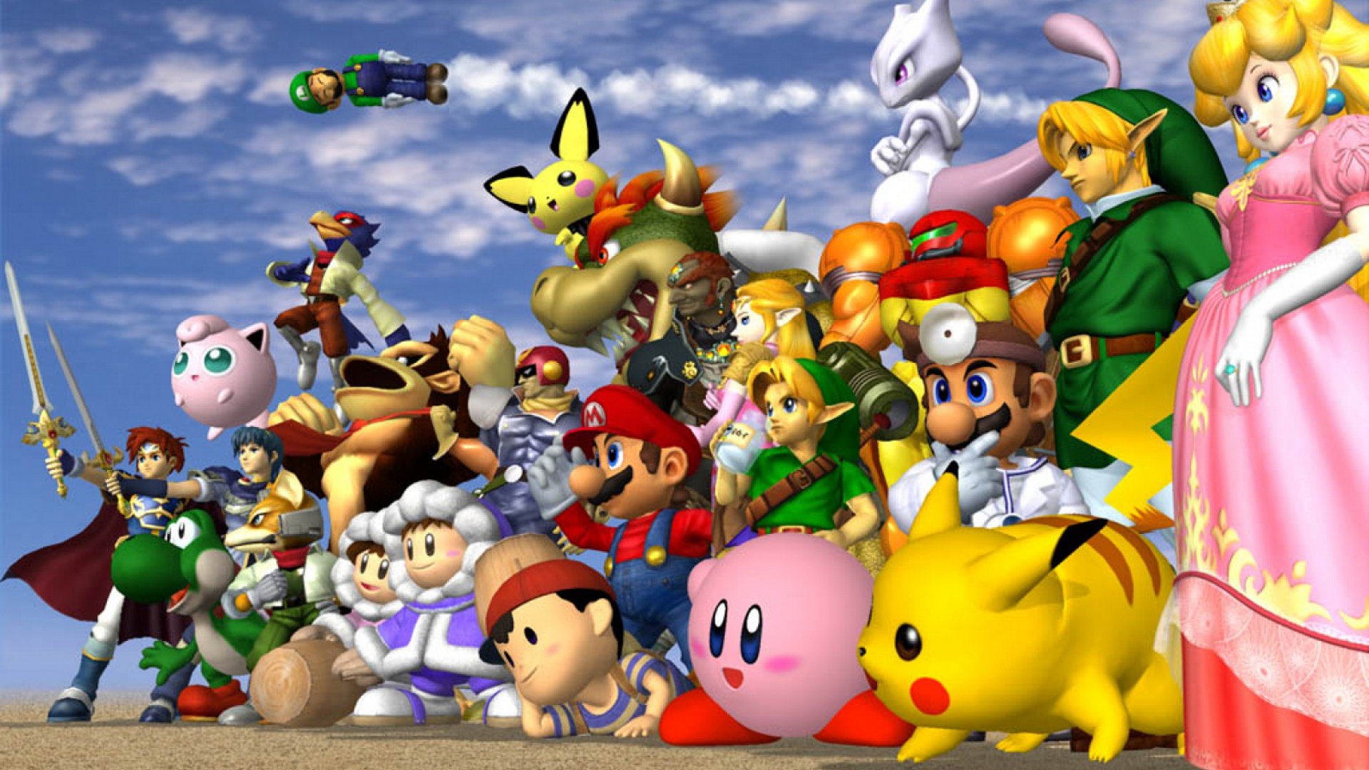 Super Smash Bros Melee Wallpapers 1920x1080 Full Hd 1080p