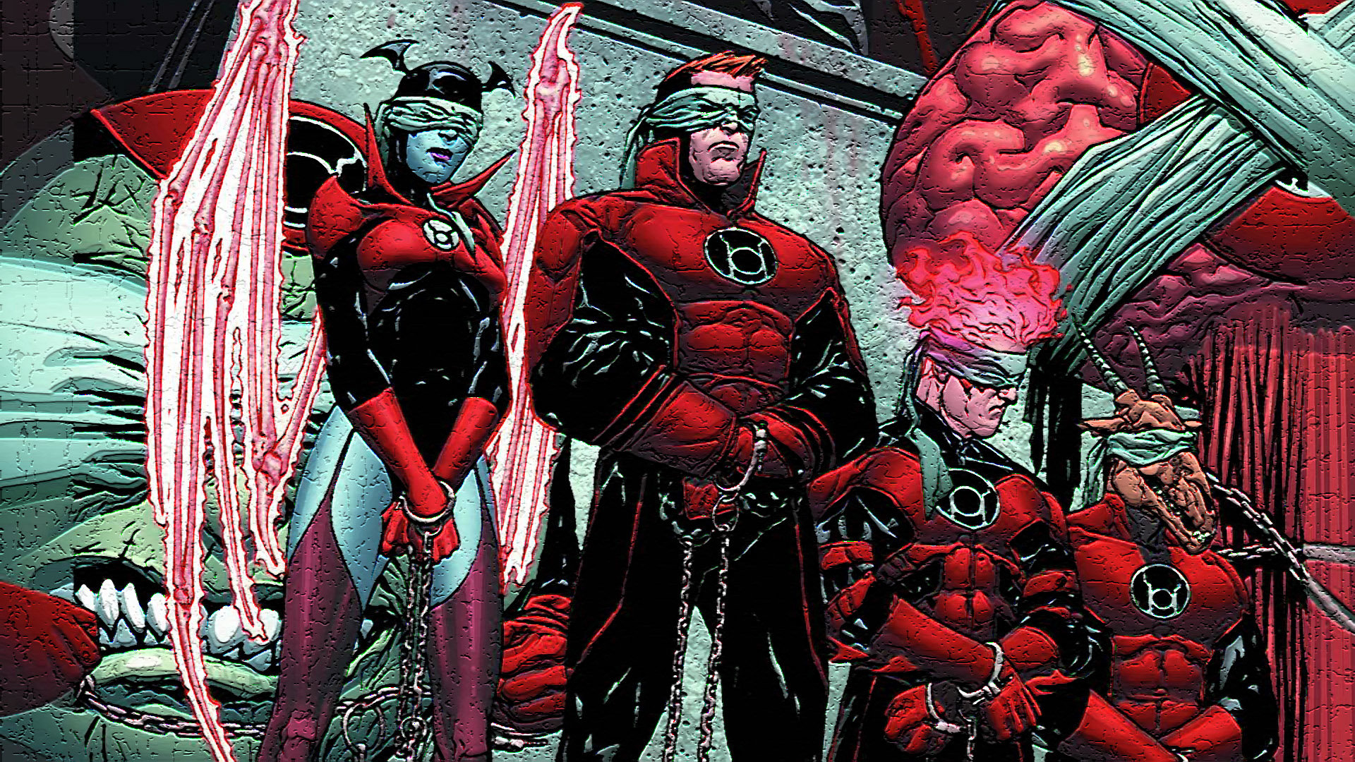 Free Red Lantern Corps high quality wallpaper ID:25961 for full hd 1920x1080 computer
