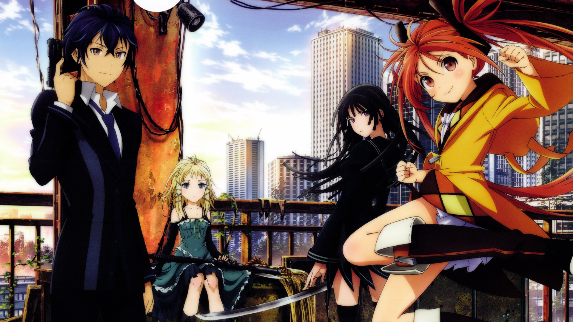 Awesome Black Bullet free wallpaper ID:342391 for hd 1080p computer