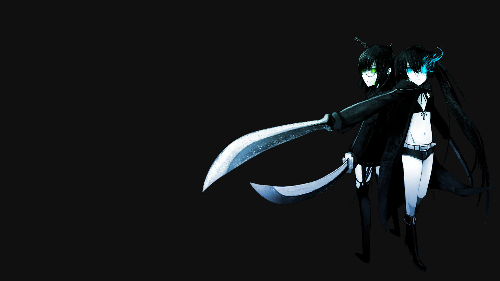 Download full hd 1920x1080 Dead Master (Black Rock Shooter) PC background ID:453910 for free