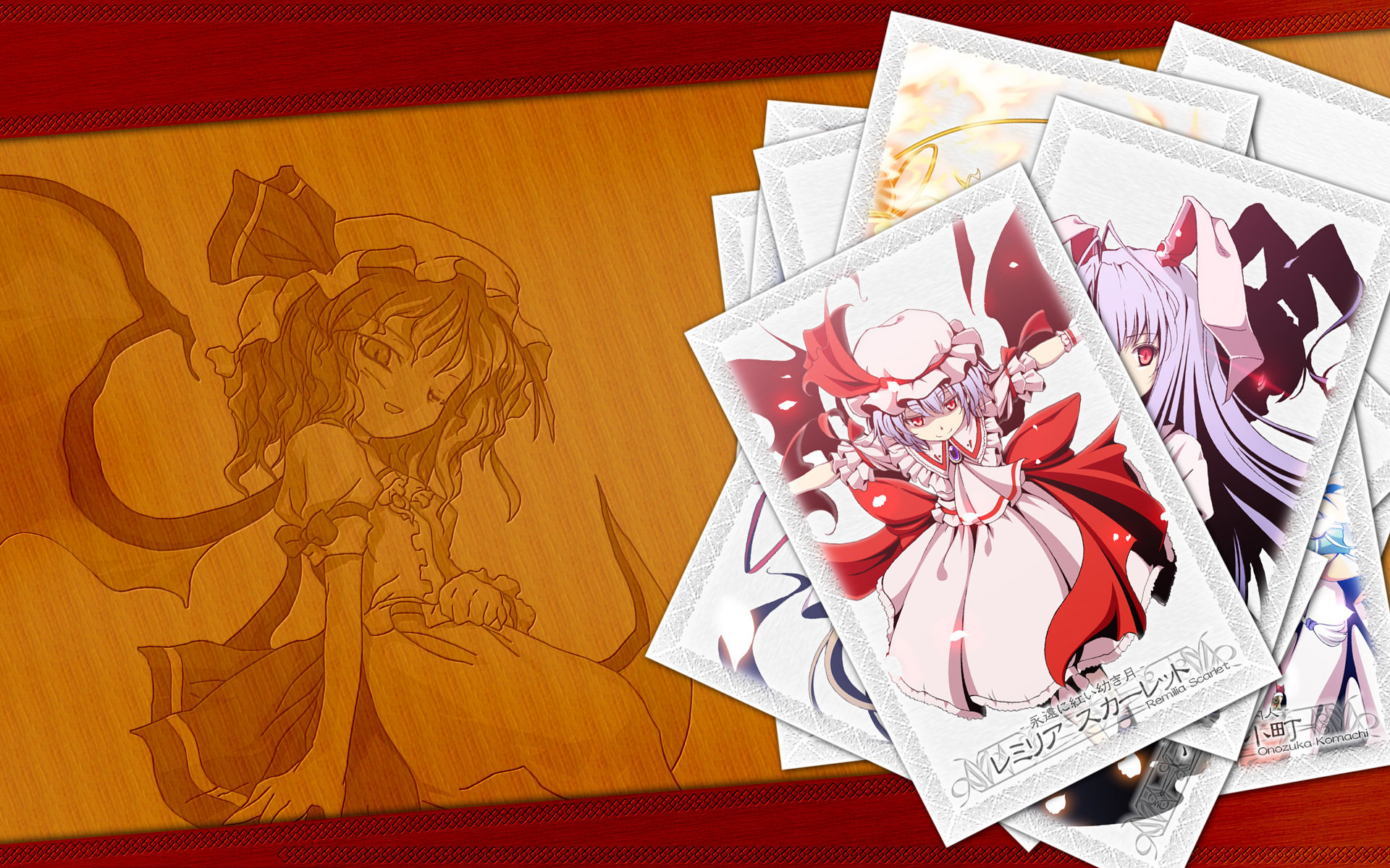 Download hd 1920x1200 Touhou PC background ID:222026 for free