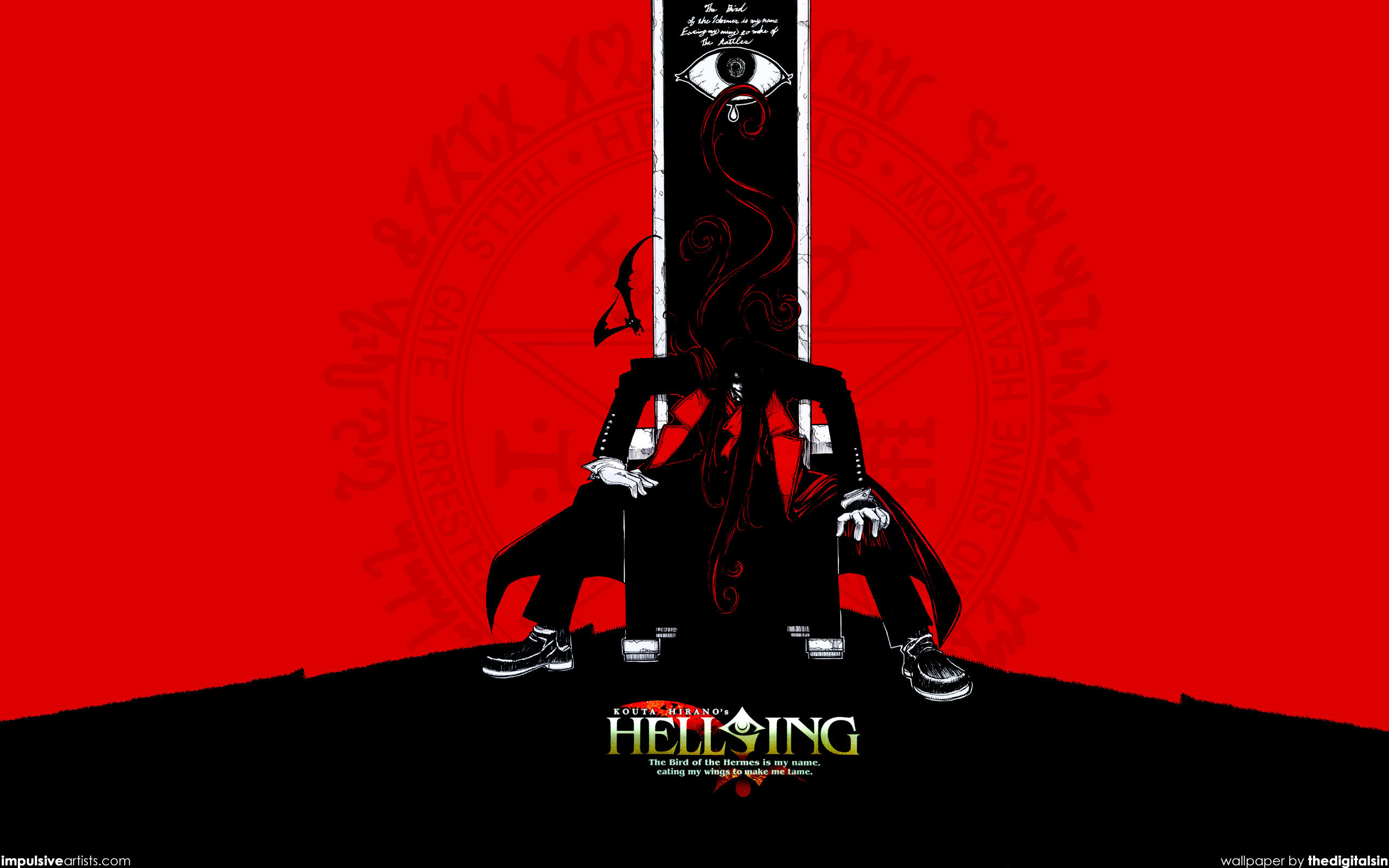 Best Alucard (Hellsing) background ID:329529 for High Resolution hd 2560x1600 PC
