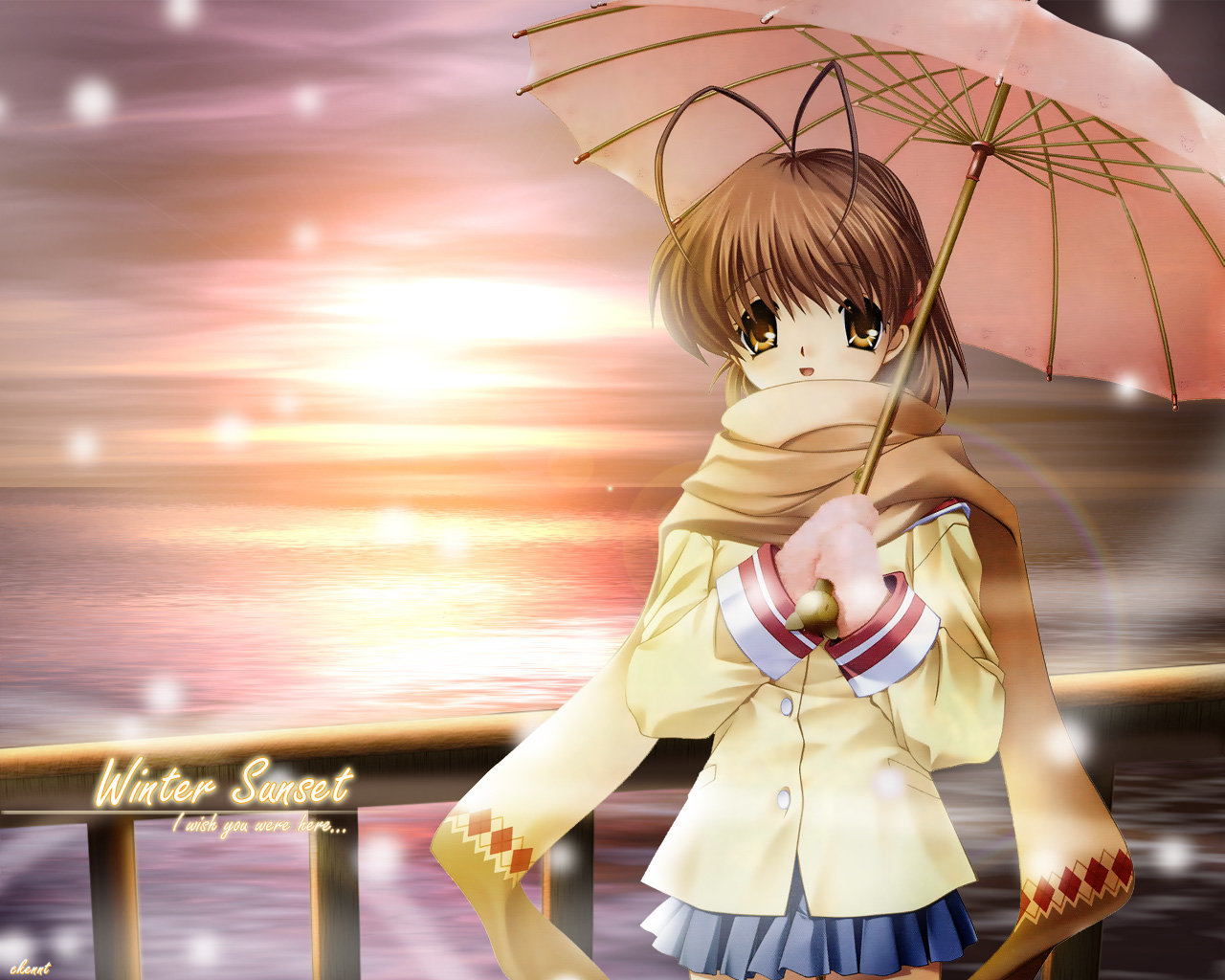 High resolution Clannad hd 1280x1024 background ID:316470 for PC