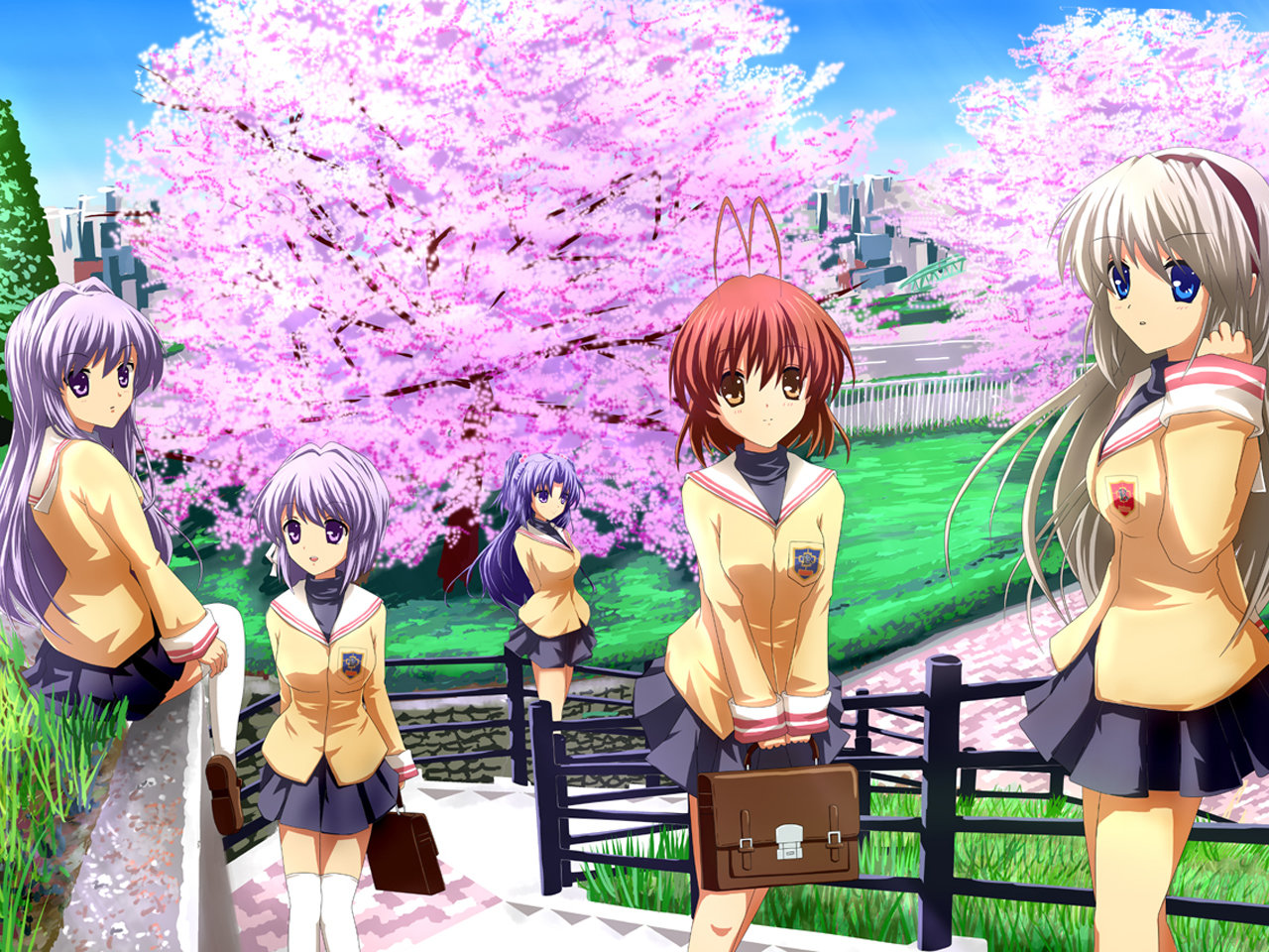 High resolution Clannad hd 1280x960 wallpaper ID:316468 for computer