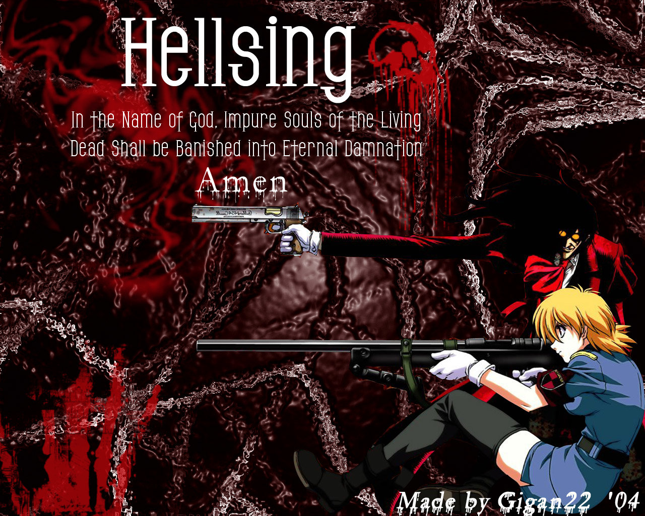 Free download Hellsing wallpaper ID:329943 hd 1280x1024 for computer