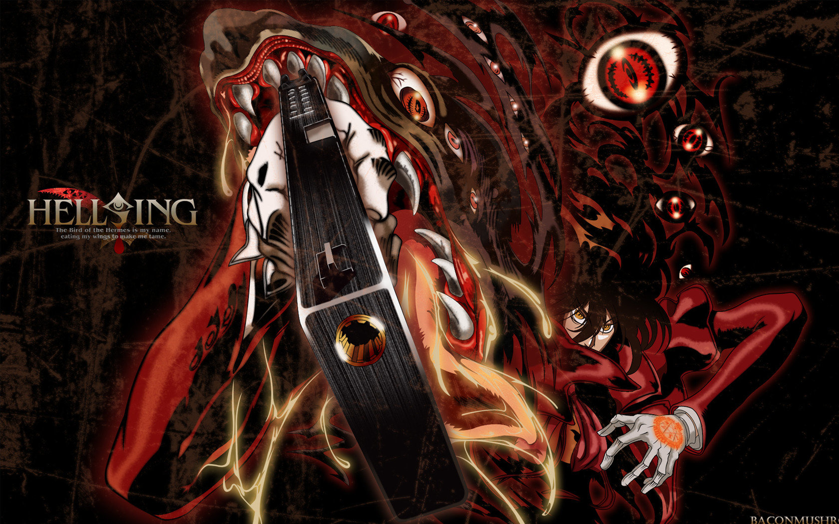 Awesome Hellsing free wallpaper ID:330018 for hd 1680x1050 desktop