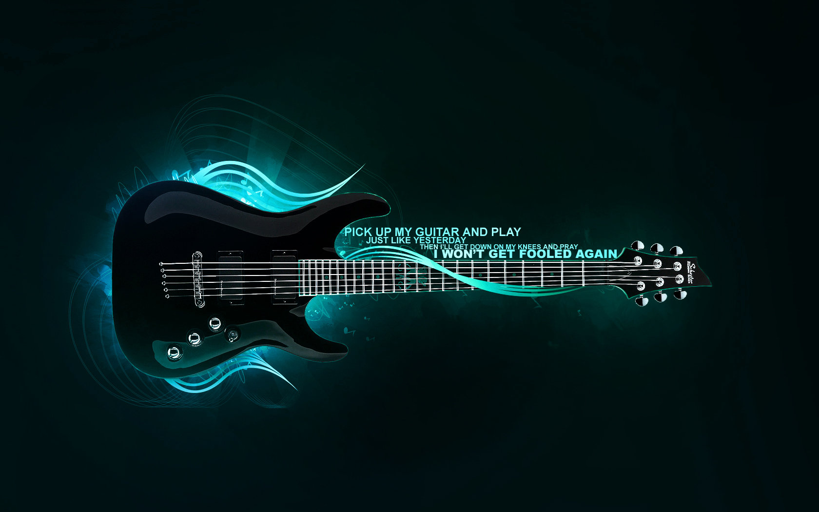 Best Guitar background ID:249228 for High Resolution hd 1680x1050 computer