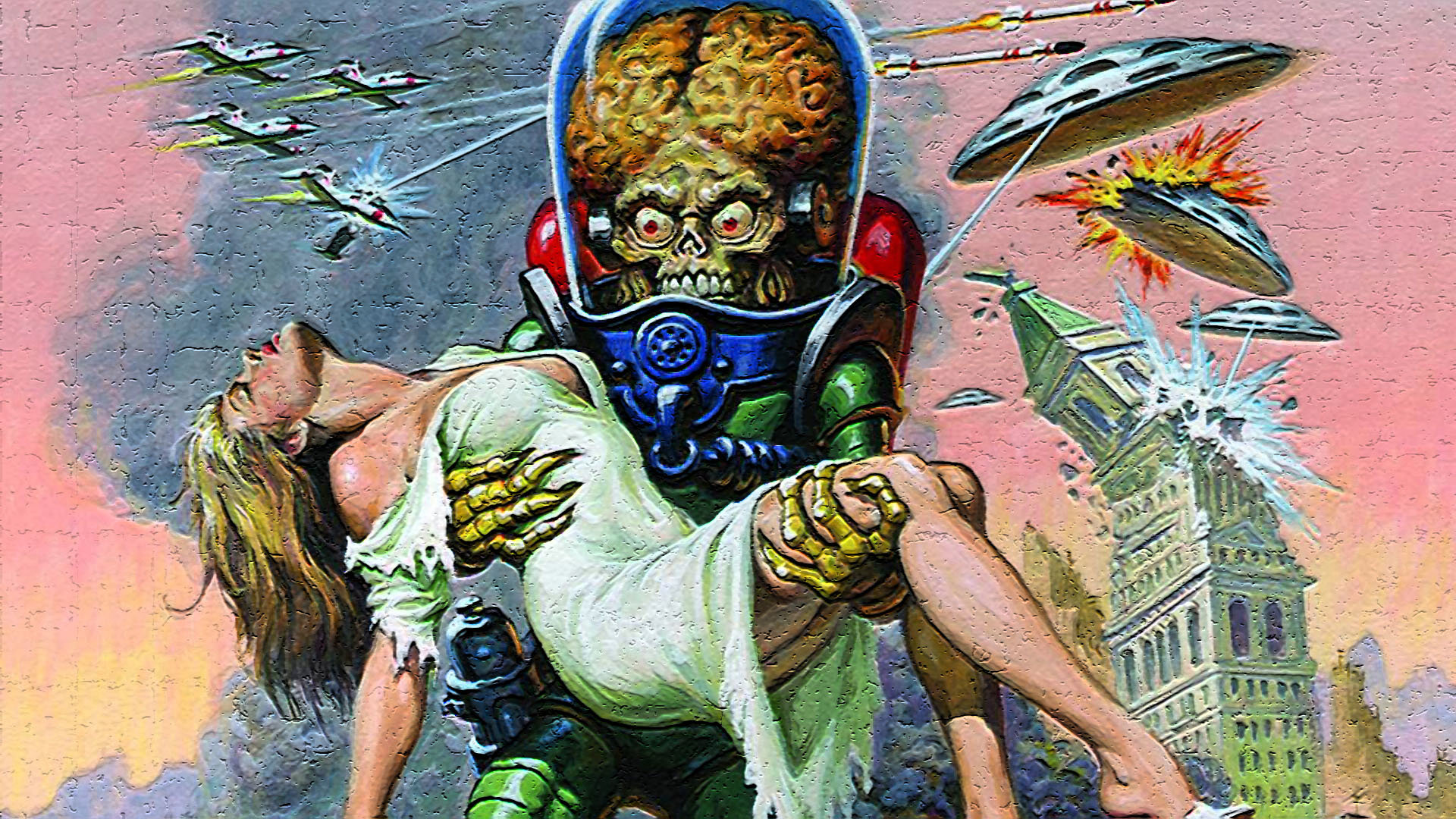 Best Mars Attacks background ID:245970 for High Resolution full hd PC