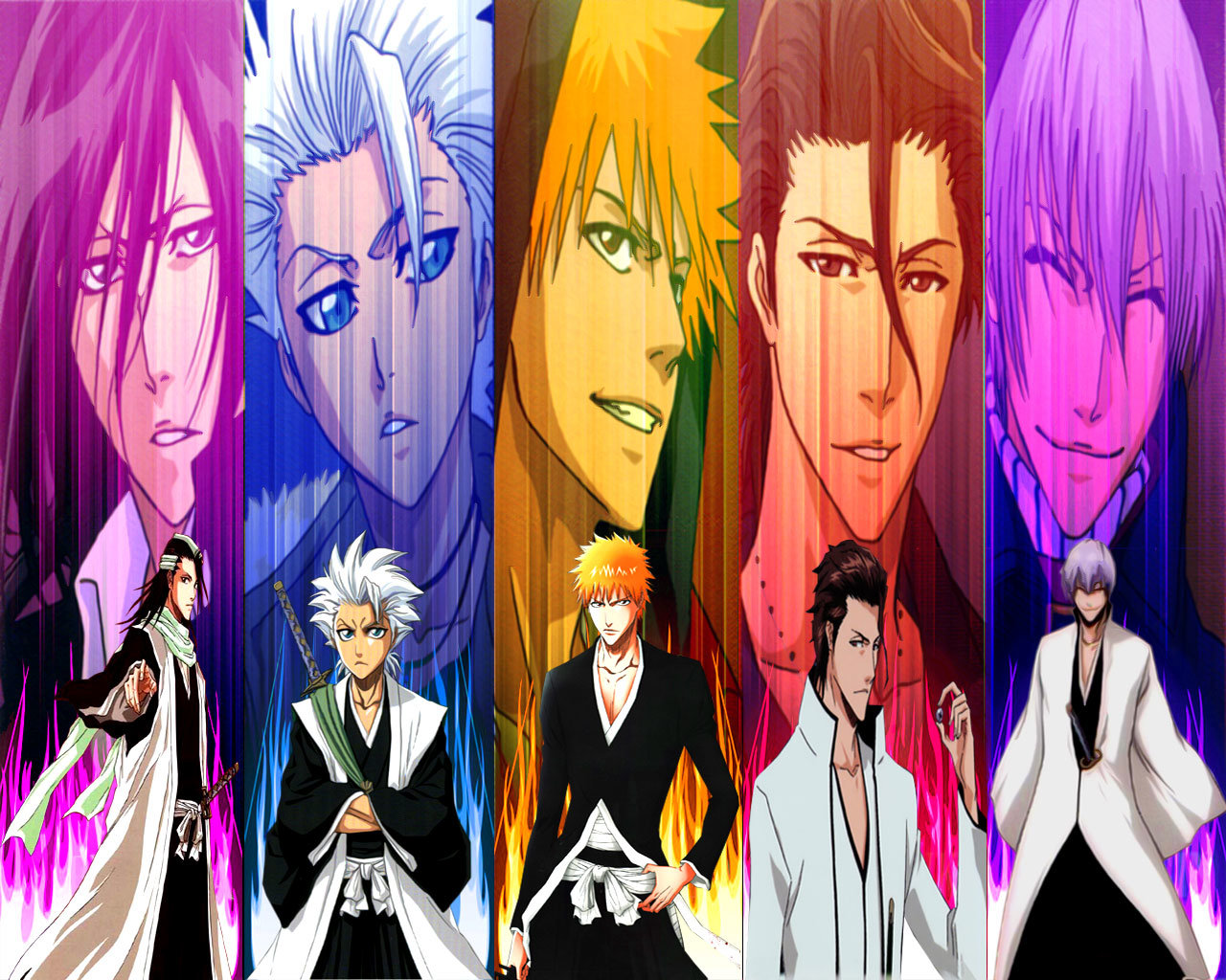 Free download Bleach background ID:418550 hd 1280x1024 for computer