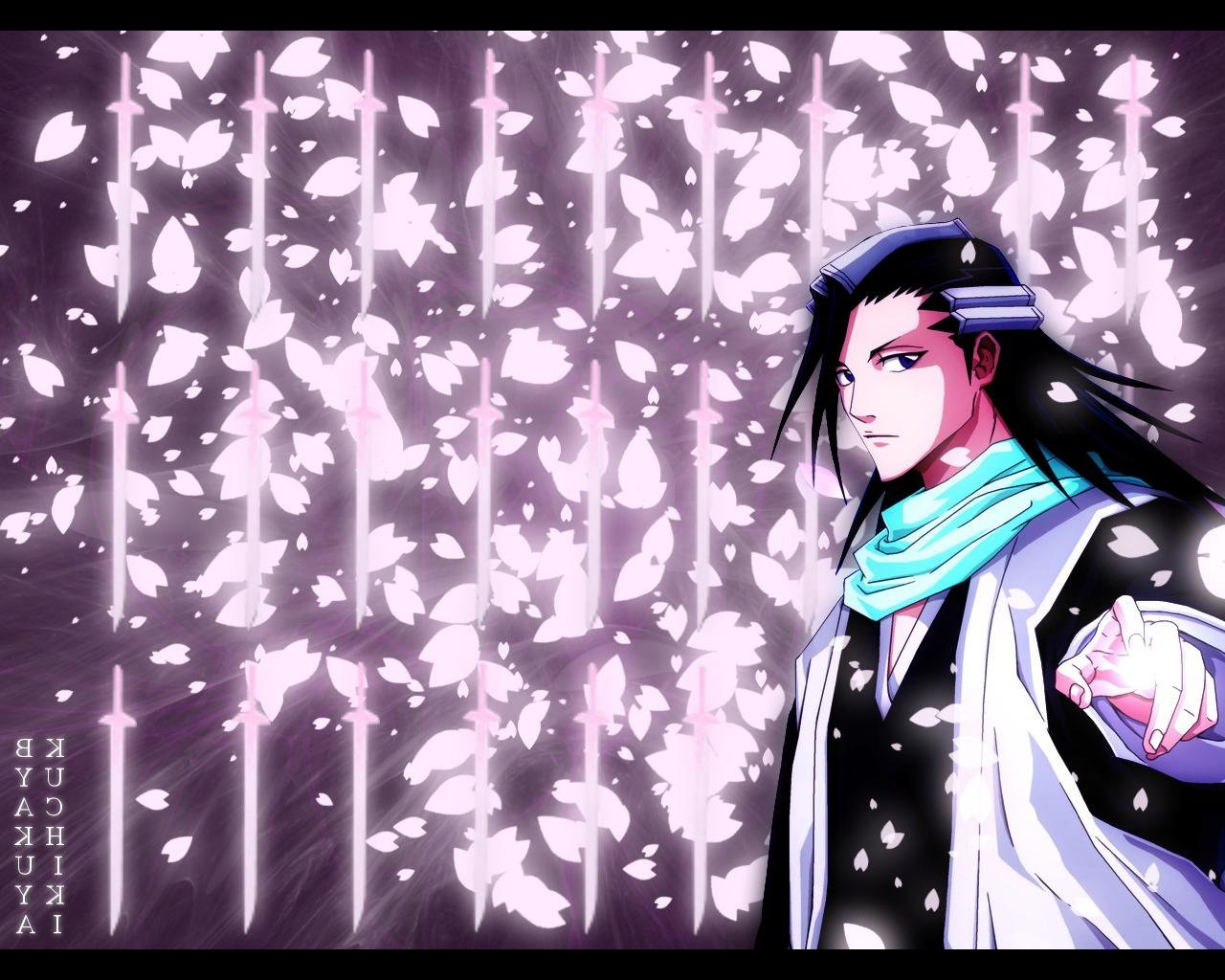 Awesome Byakuya Kuchiki free wallpaper ID:418796 for hd 1280x1024 PC