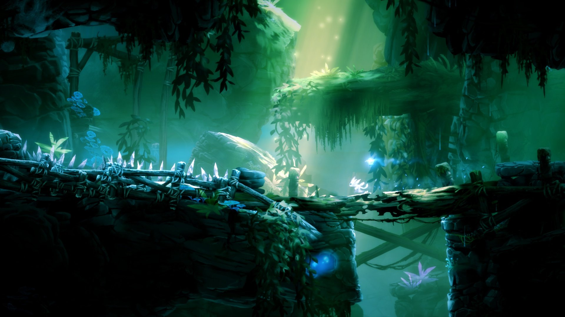 High Resolution Ori And The Blind Forest Full Hd 1080p Wallpaper Id 324325 For Computer