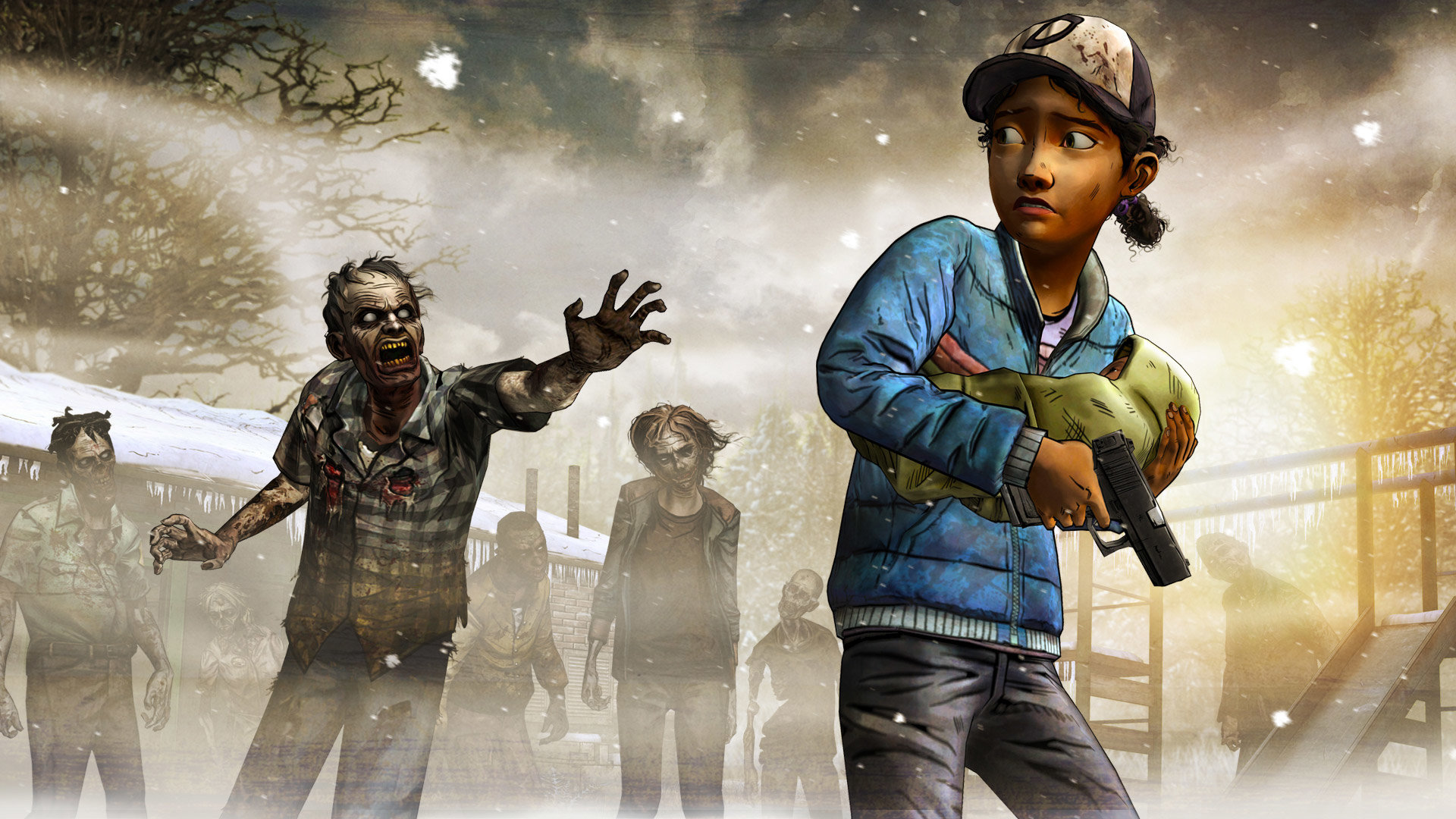 The Walking Dead Video Game Wallpapers Hd For Desktop Backgrounds