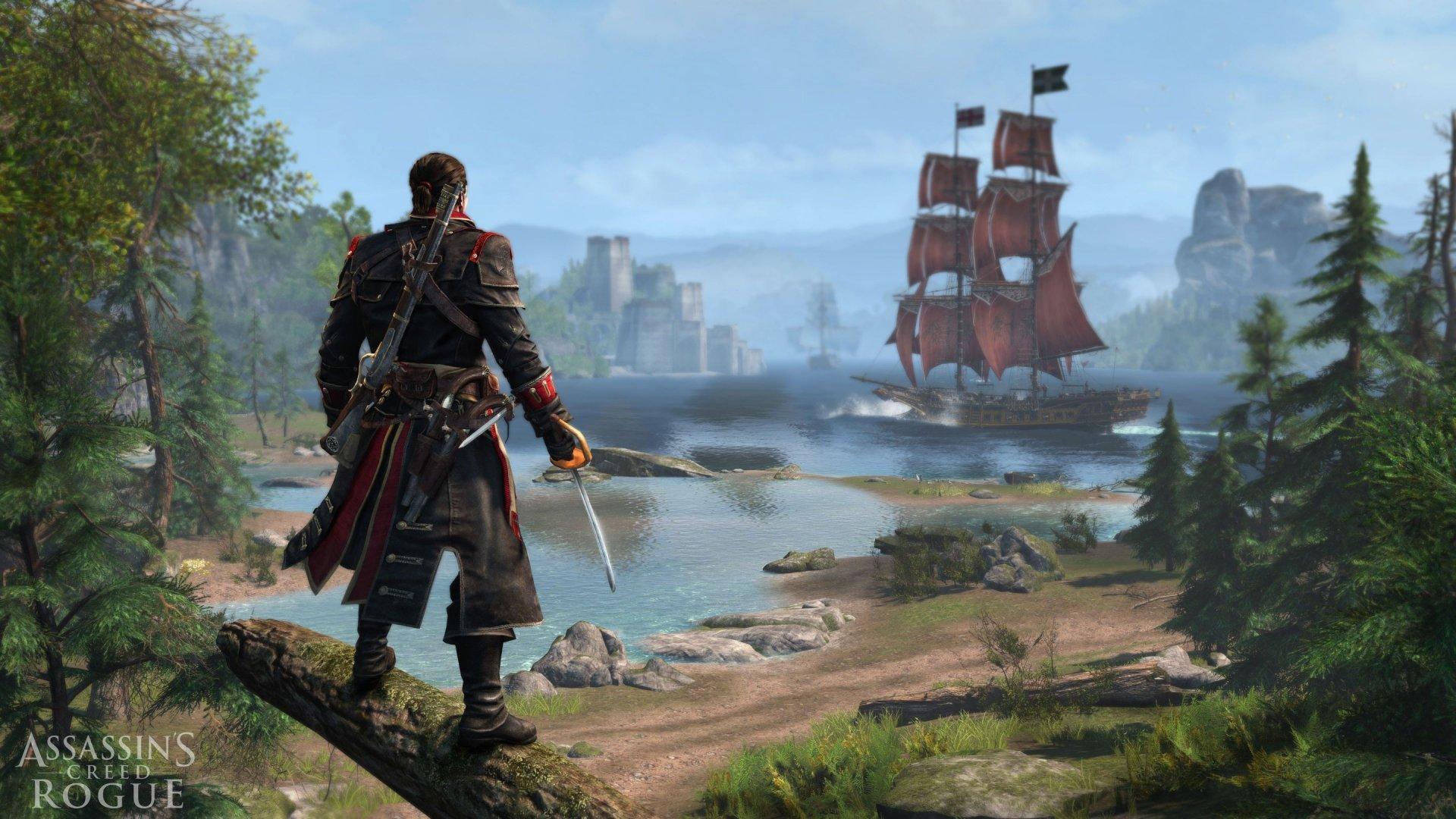 Assassin S Creed Rogue Wallpapers 1920x1080 Full Hd 1080p Desktop