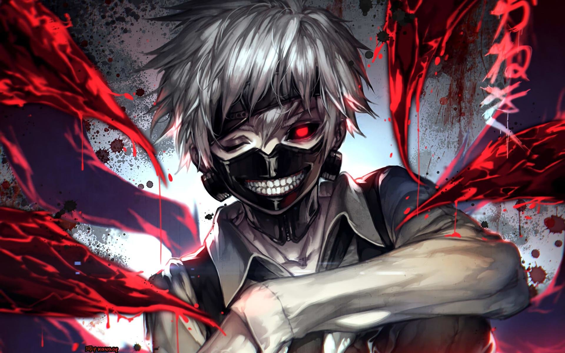 Download hd 1920x1200 Ken Kaneki PC background ID:150015 for free