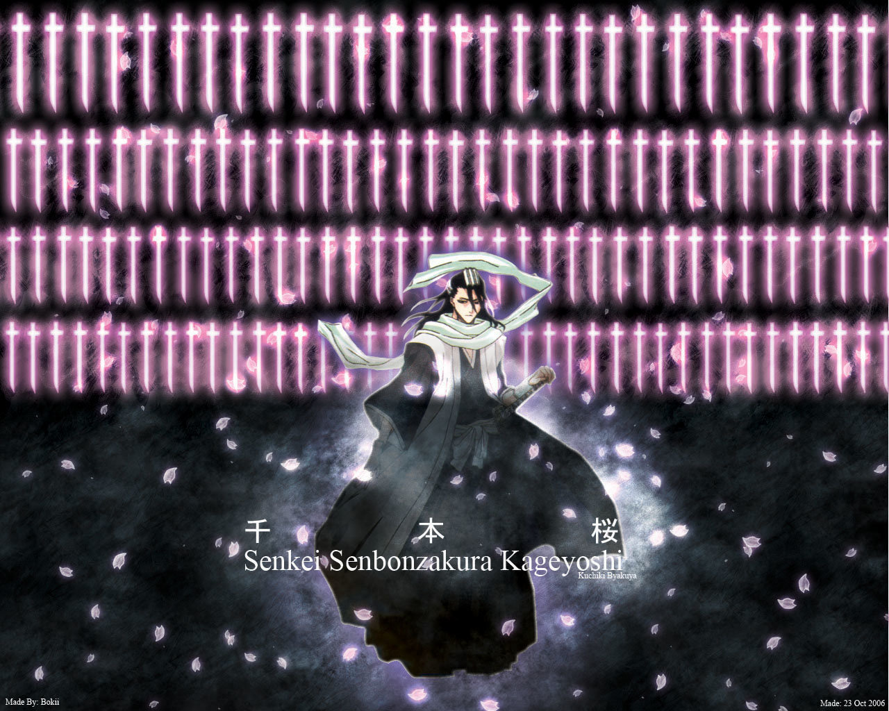 Free download Byakuya Kuchiki background ID:413612 hd 1280x1024 for PC