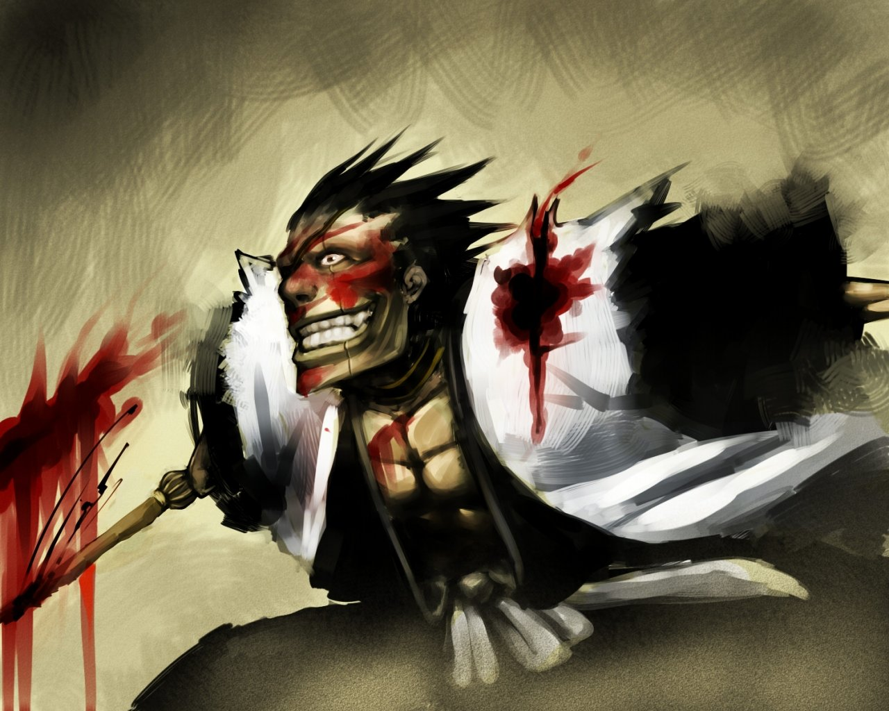 Best Kenpachi Zaraki background ID:417885 for High Resolution hd 1280x1024 PC