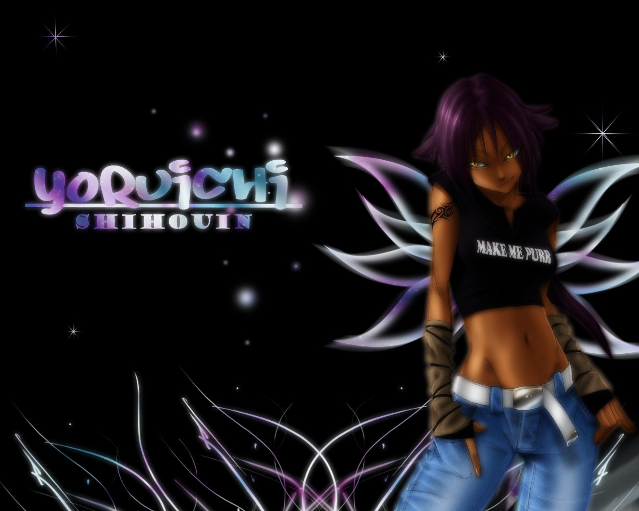 Awesome Yoruichi Shihoin free background ID:413584 for hd 1280x1024 desktop