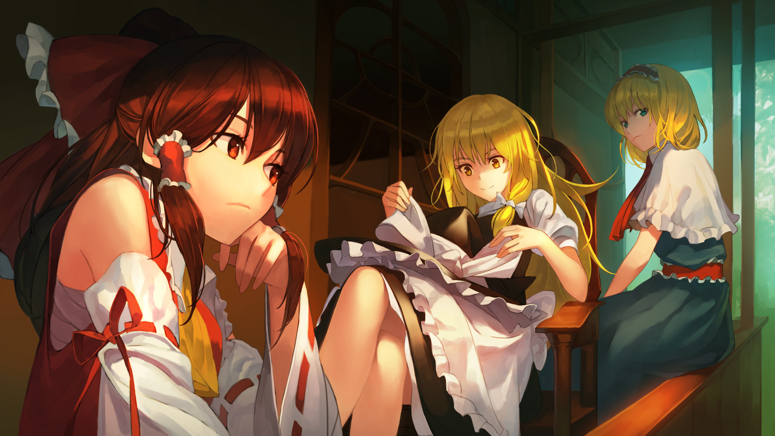 High resolution Touhou hd 2560x1440 background ID:220835 for desktop