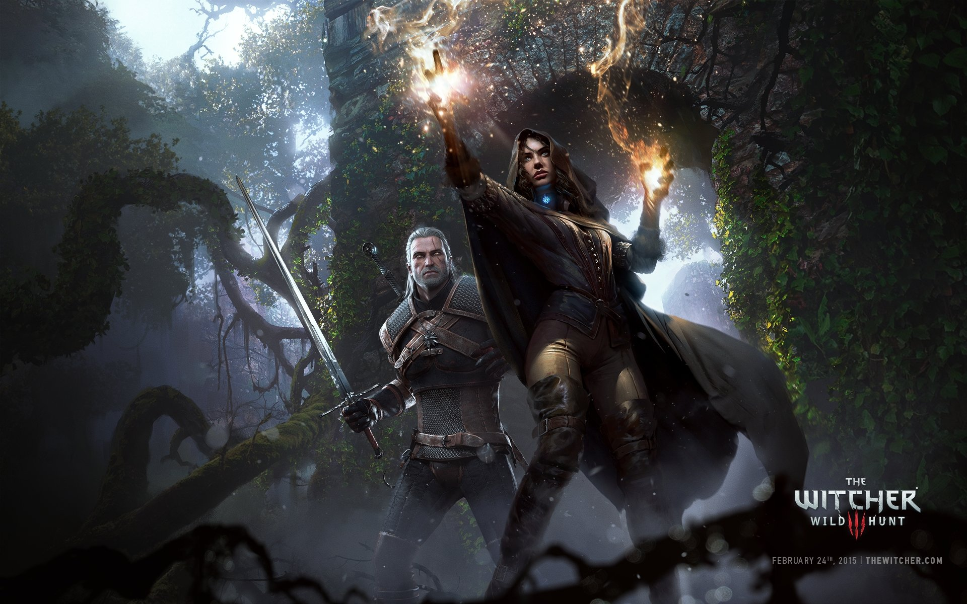 Download hd 1920x1200 The Witcher 3: Wild Hunt desktop wallpaper ID:17894 for free