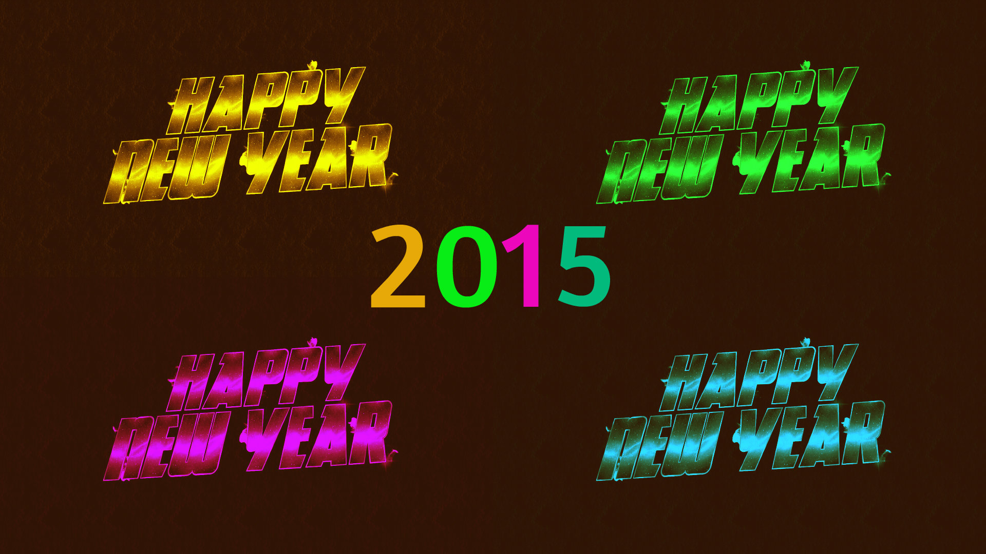 Download 1080p New Year 2015 desktop wallpaper ID:156236 for free