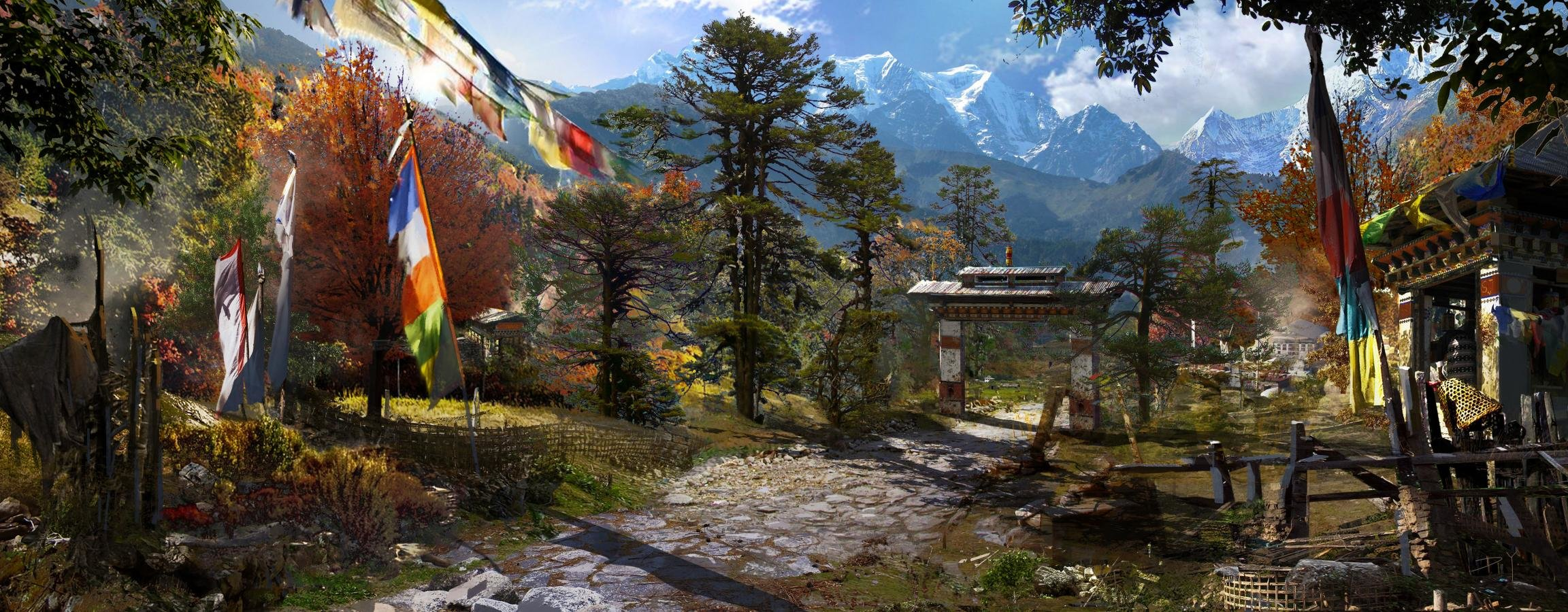 Dual Monitor Far Cry 4 Wallpapers Hd Backgrounds
