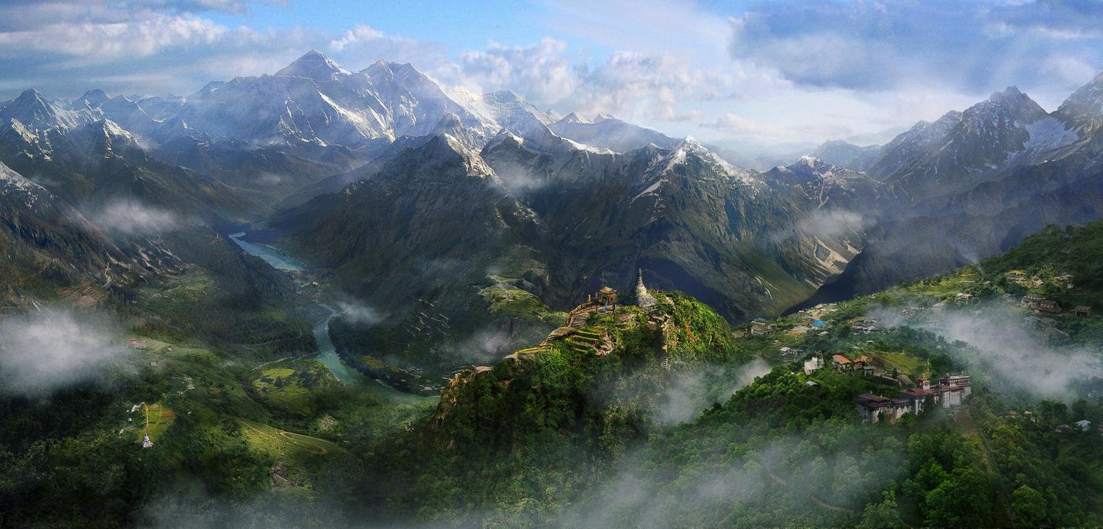 Free download Far Cry 4 wallpaper ID:10667 hd 1600x768 for desktop