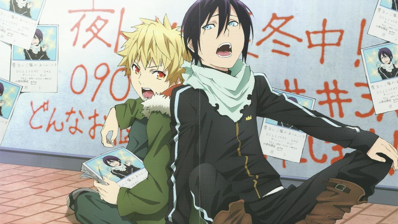 Best Noragami wallpaper ID:450326 for High Resolution 1366x768 laptop desktop