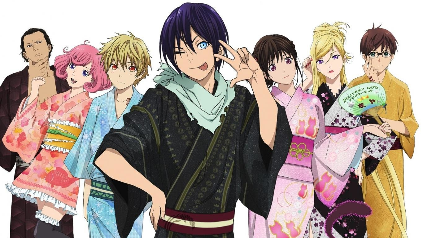 Download laptop Noragami computer wallpaper ID:450333 for free
