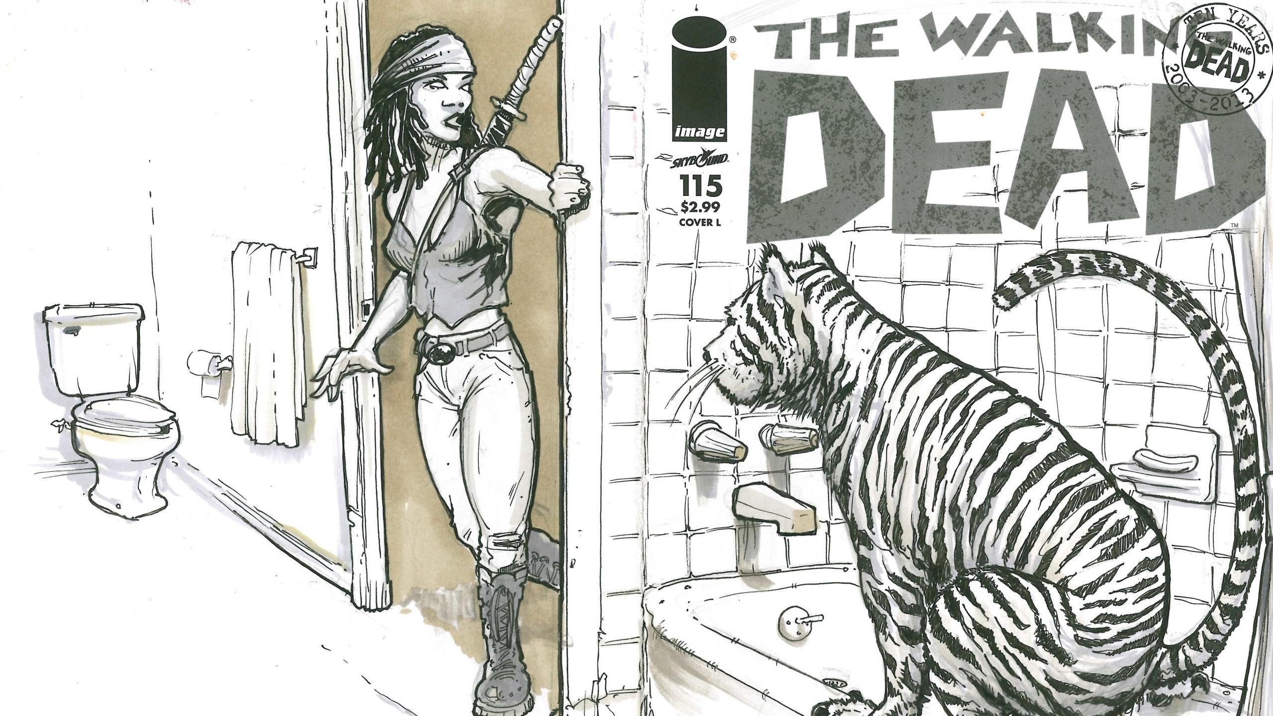 Walking Dead Comics Wallpapers 2560x1440 Desktop Backgrounds