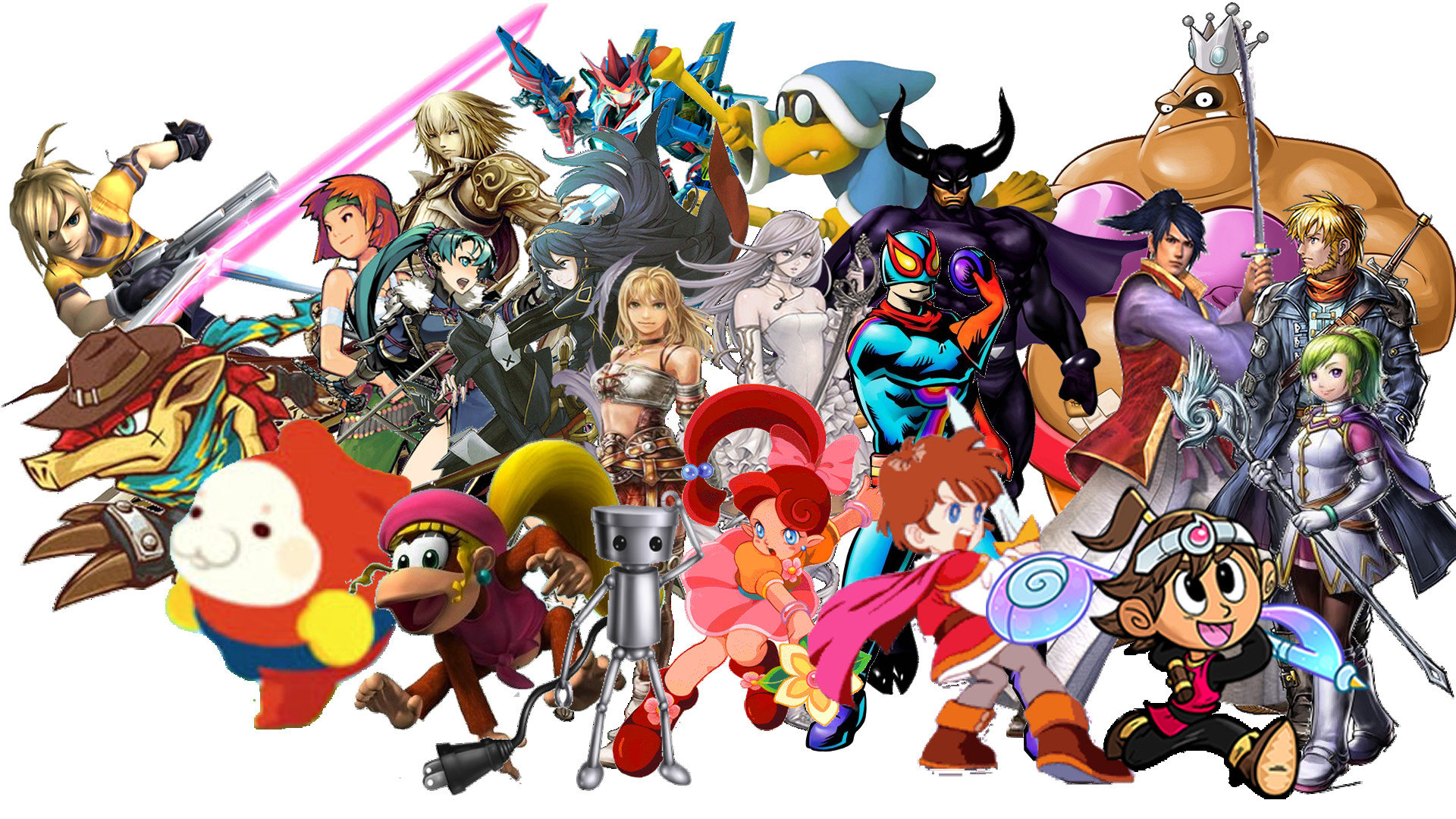 Best Super Smash Bros 4 Wallpaper Id 408538 For High Resolution