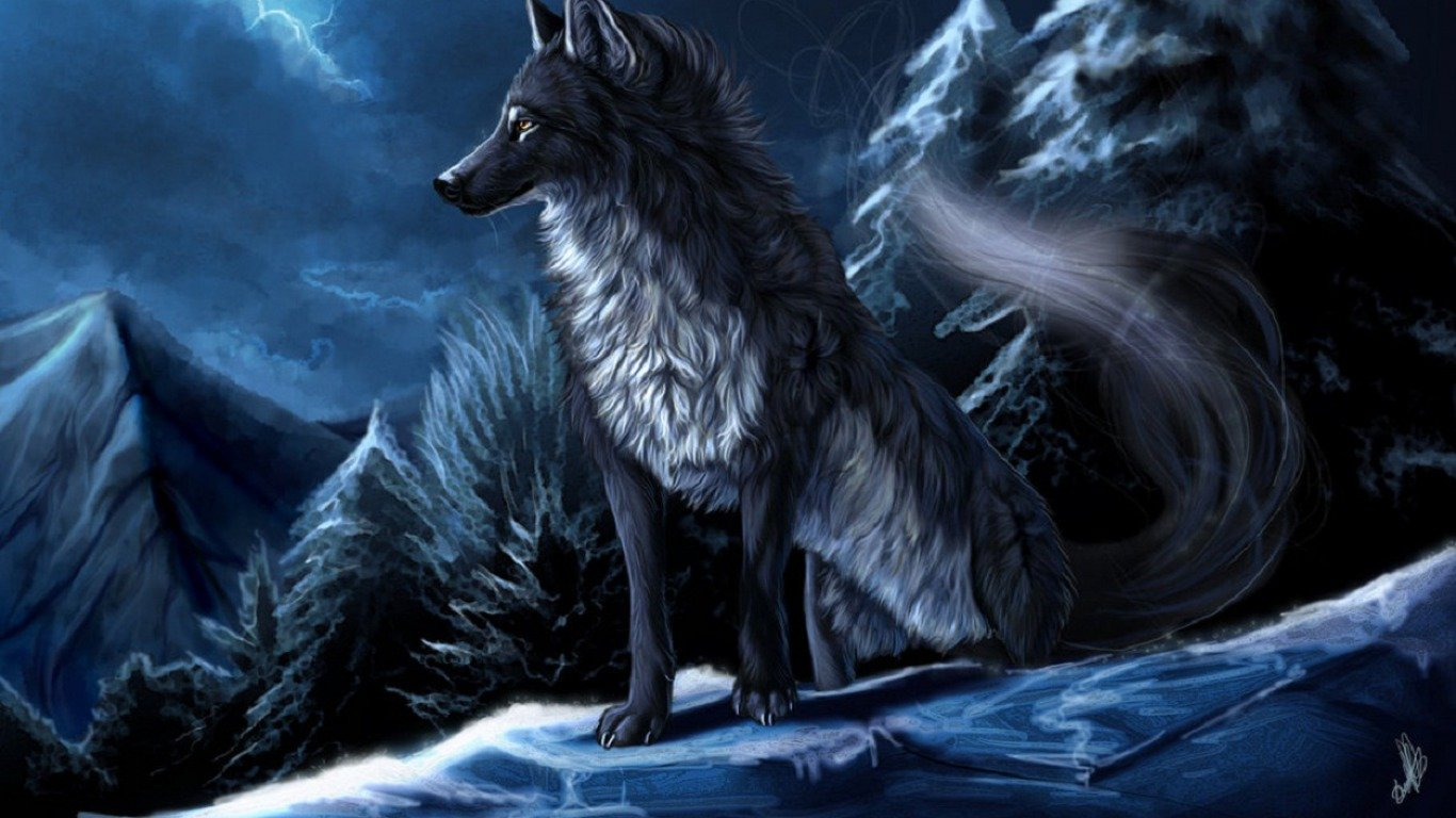 Wolf Wallpapers 1366x768 Laptop Desktop Backgrounds