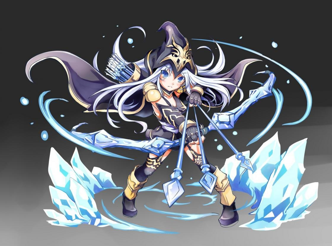 Awesome Ashe League Of Legends Free Wallpaper Id171475