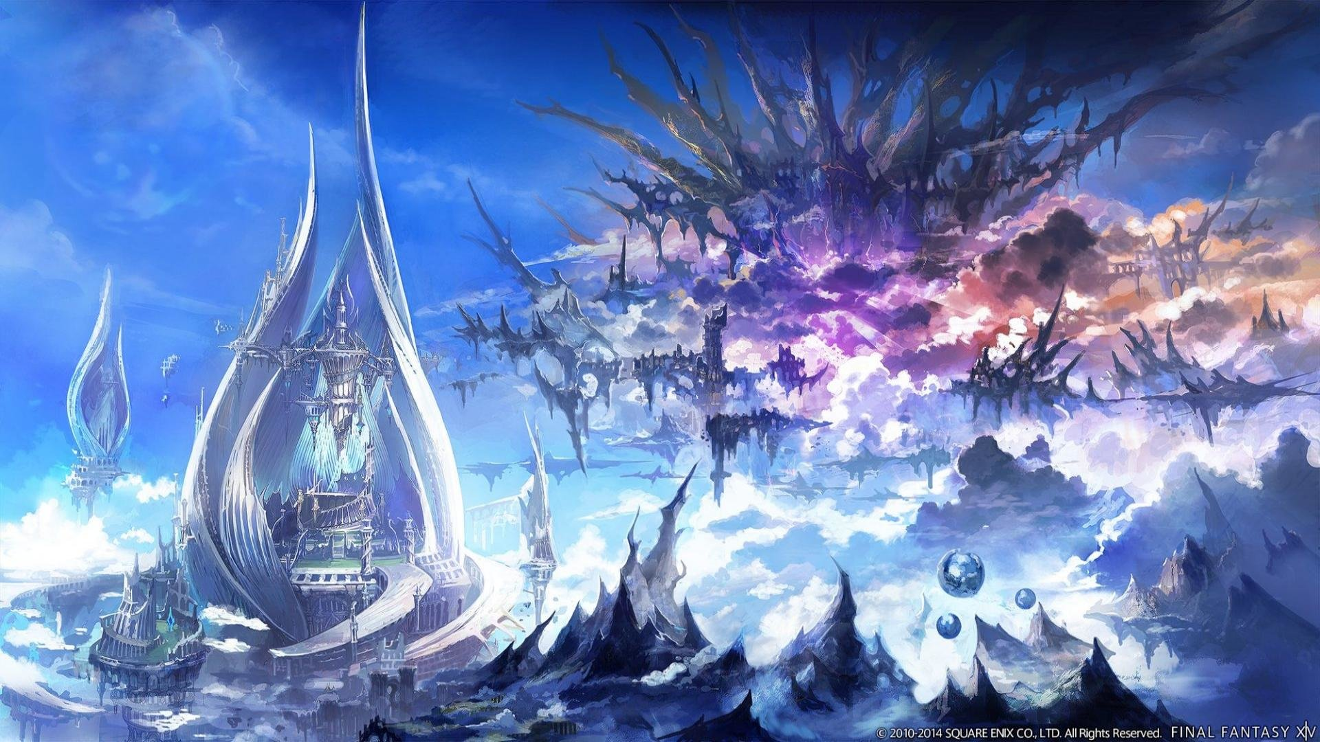 Final Fantasy Xiv Ff14 A Realm Reborn Wallpapers 1920x1080 Full