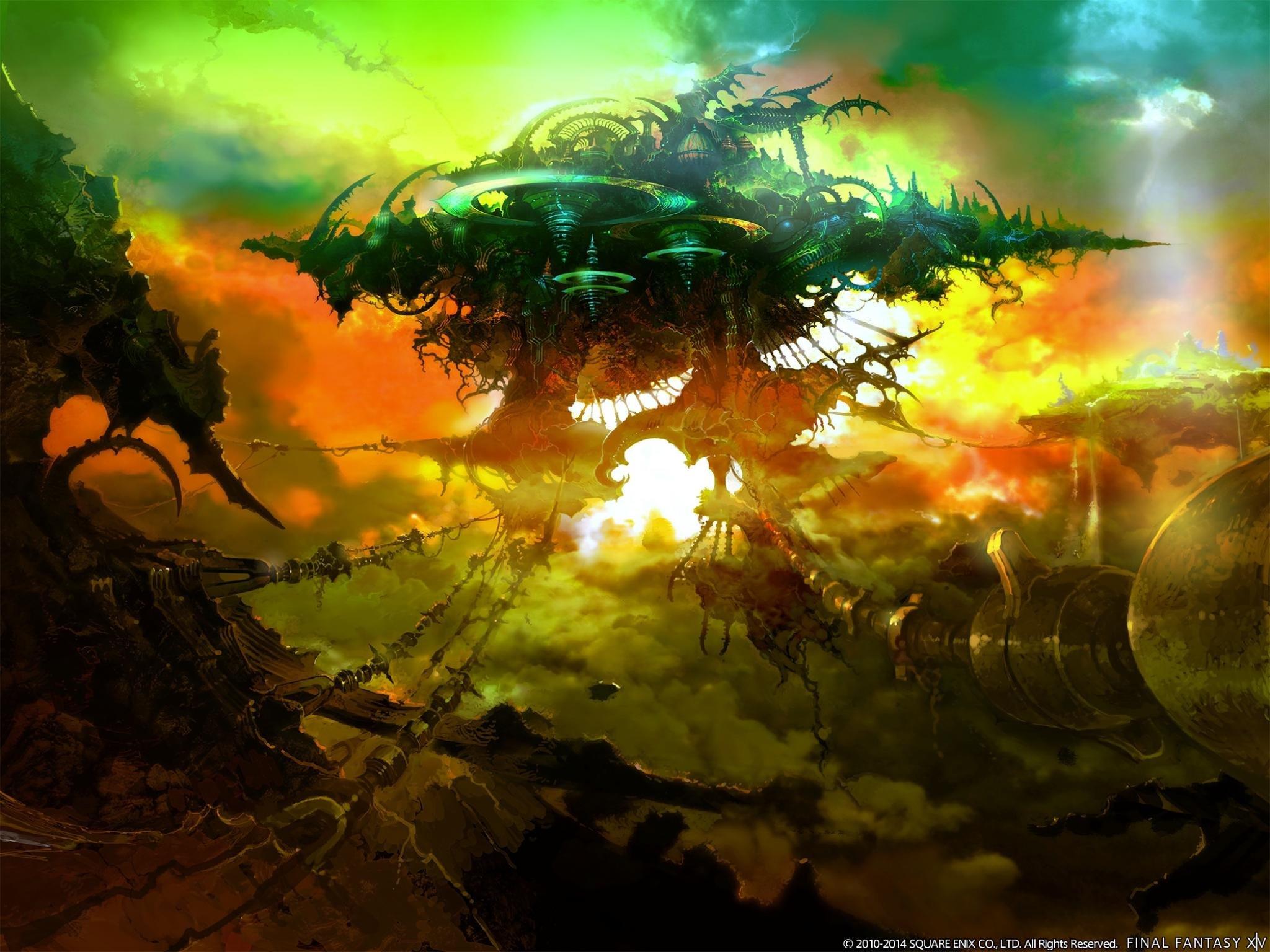 Final Fantasy Xiv Ff14 A Realm Reborn Wallpapers Hd For Desktop