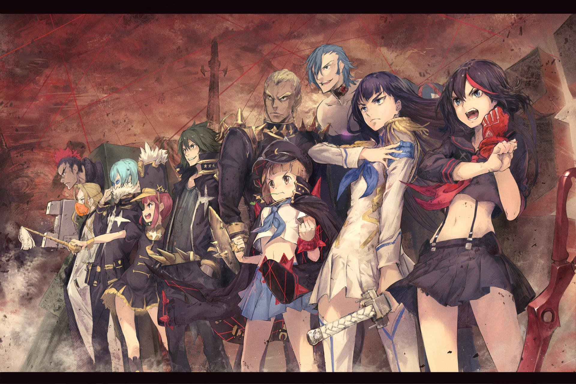 Free download Kill La Kill background ID:118823 hd 1920x1280 for PC