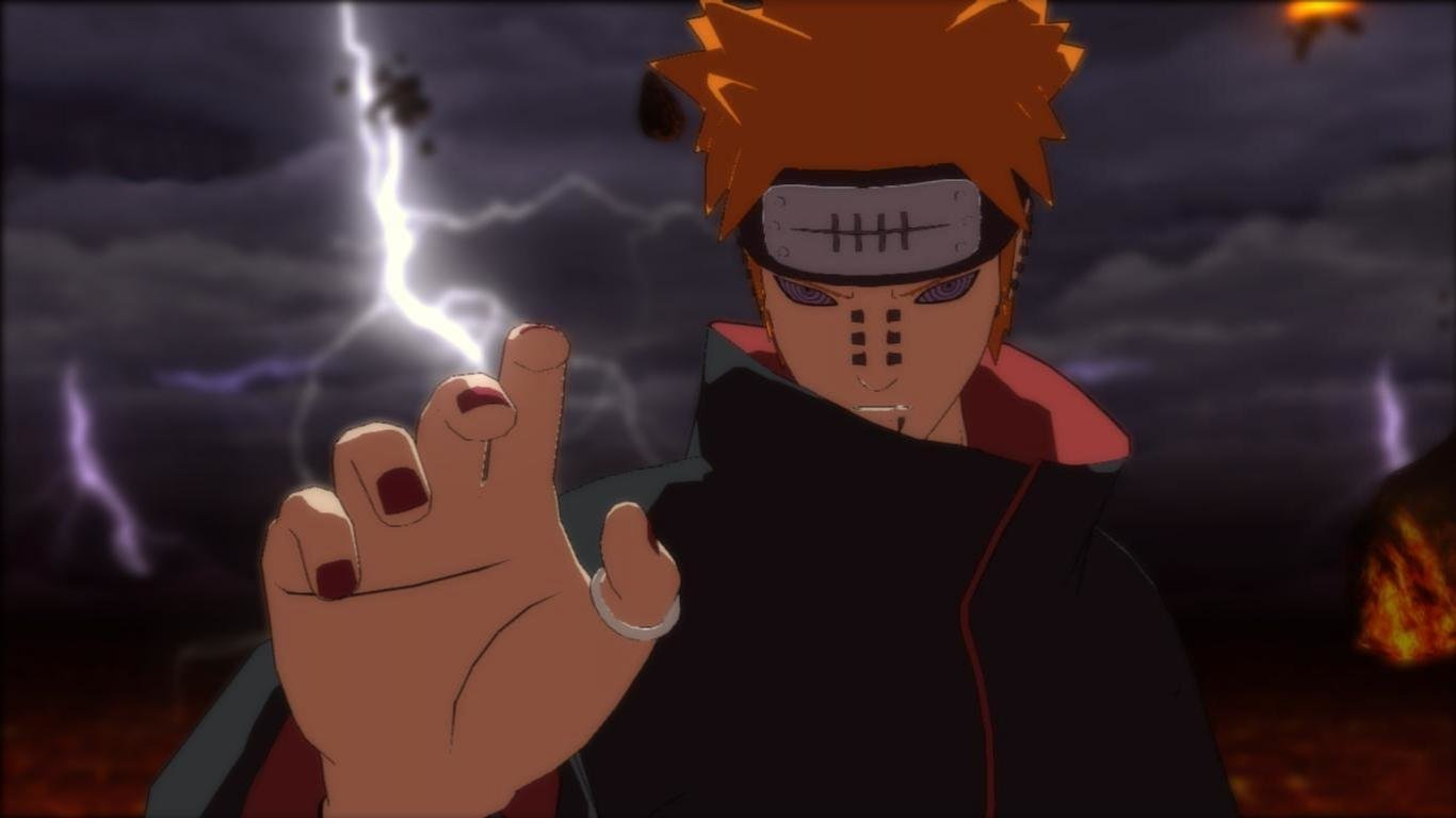 Pain Naruto Wallpapers 1366x768 Laptop Desktop Backgrounds
