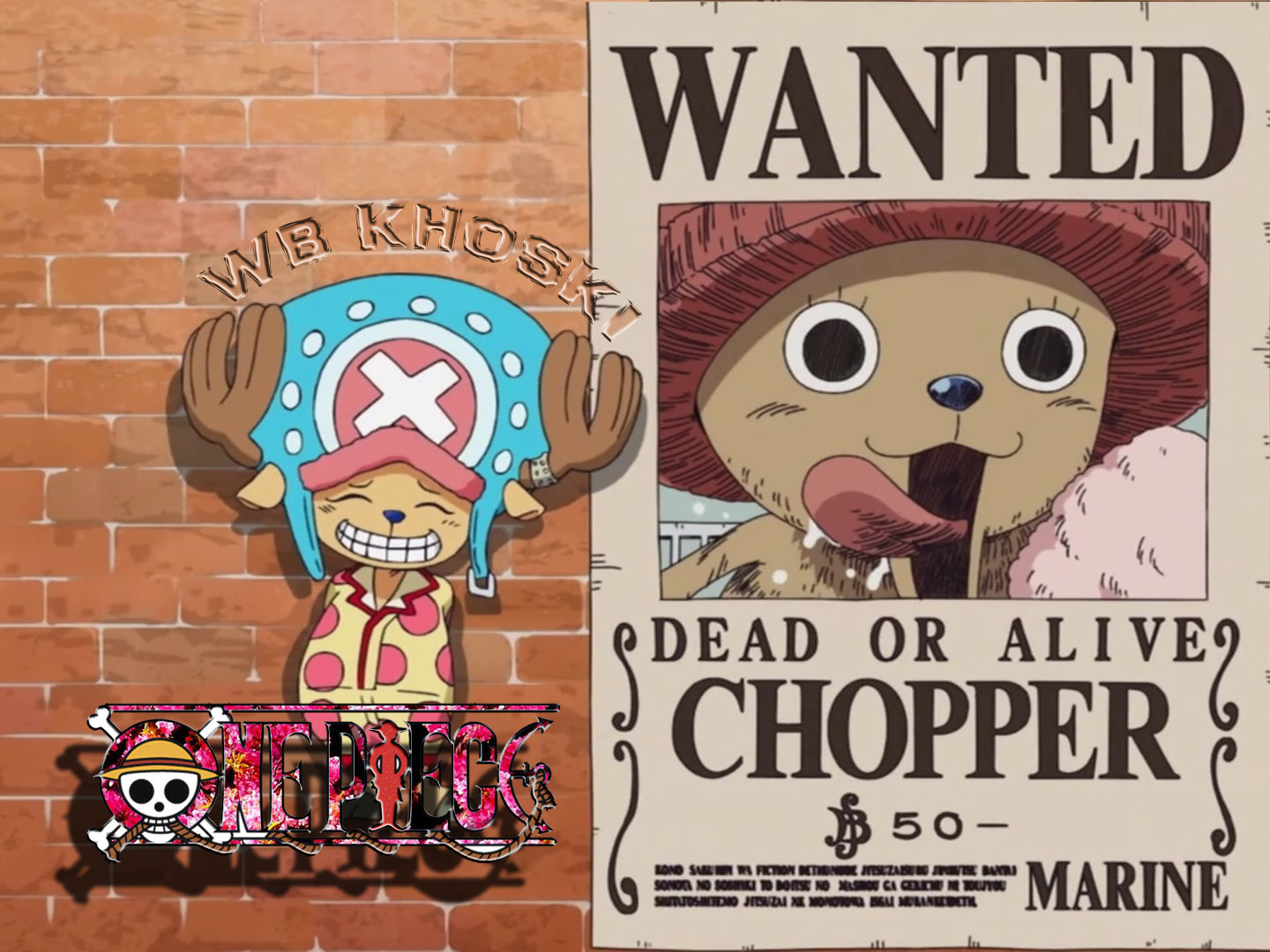 Free Tony Tony Chopper high quality background ID:314299 for hd 1440x1080 desktop