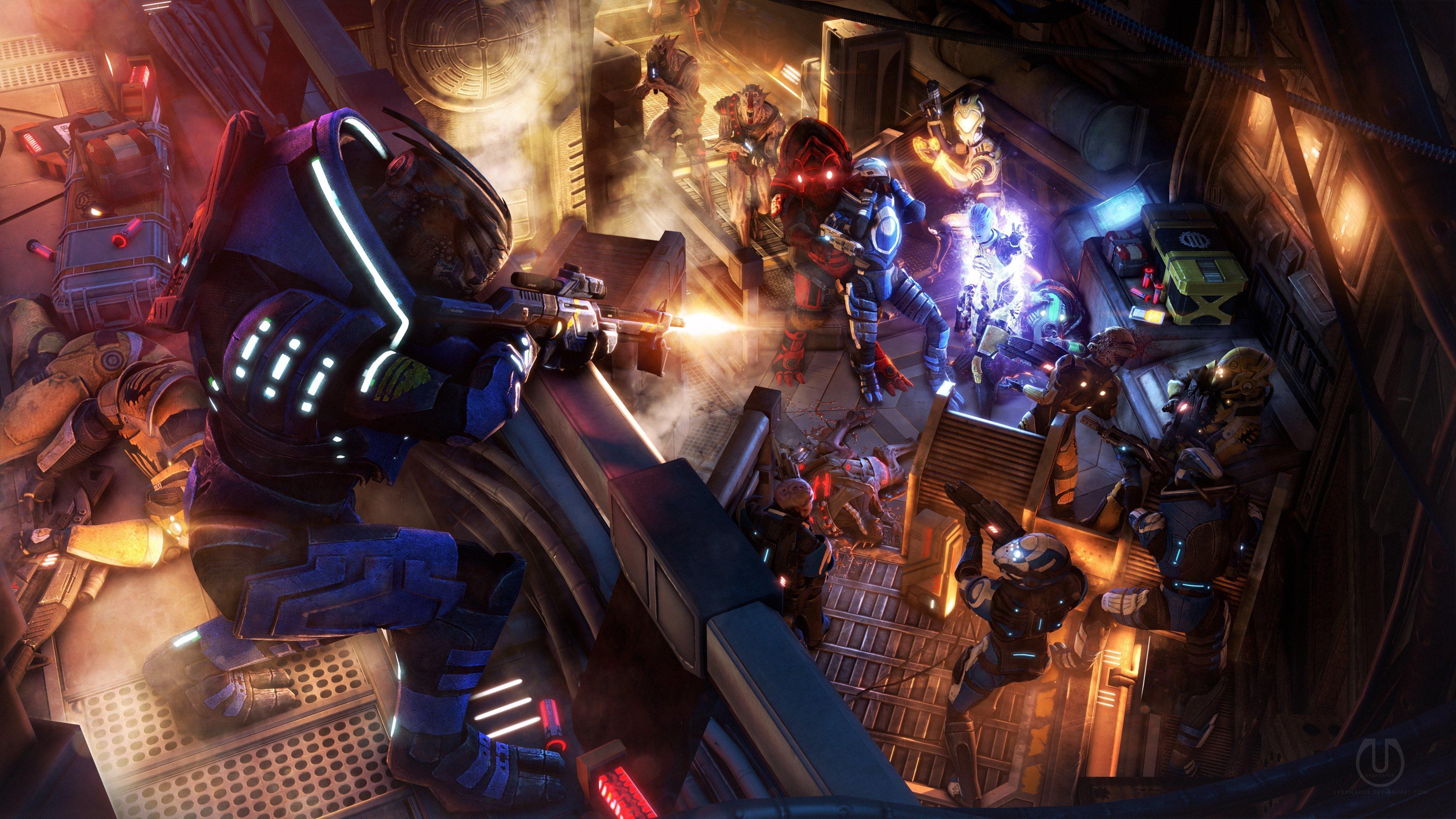 Mass Effect Wallpapers 3840x2160 Ultra Hd 4k Desktop Backgrounds