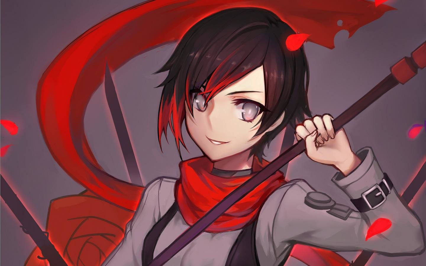 Free Ruby Rose (RWBY) high quality background ID:437696 for hd 1440x900 computer