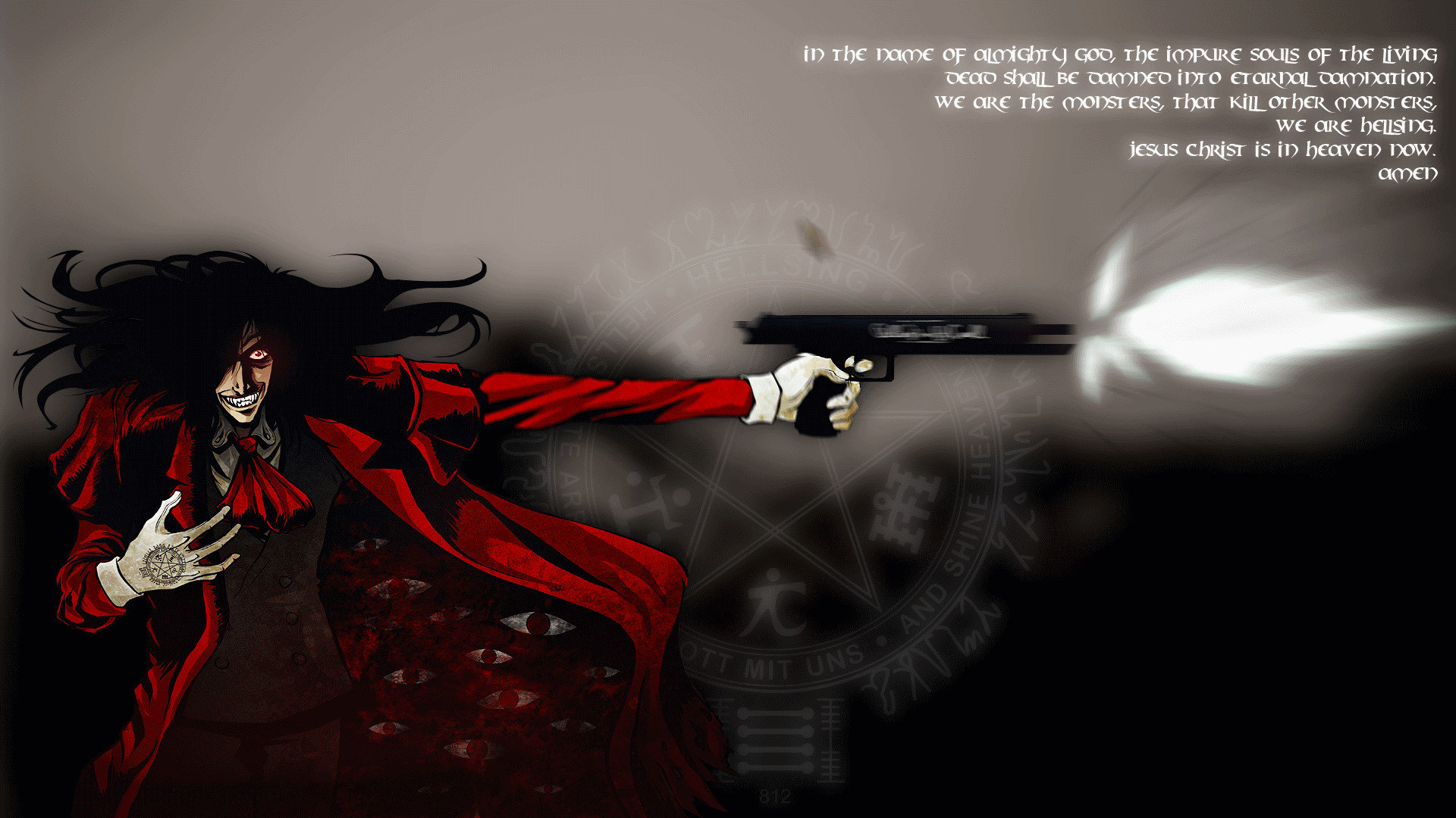 Free Hellsing high quality background ID:329881 for hd 1080p desktop