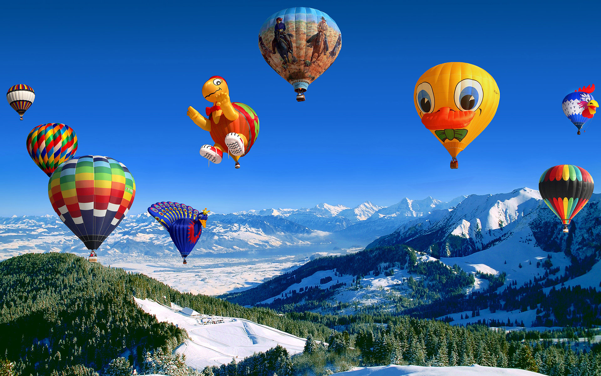 Free download Hot Air Balloon wallpaper ID:478378 hd 1920x1200 for computer