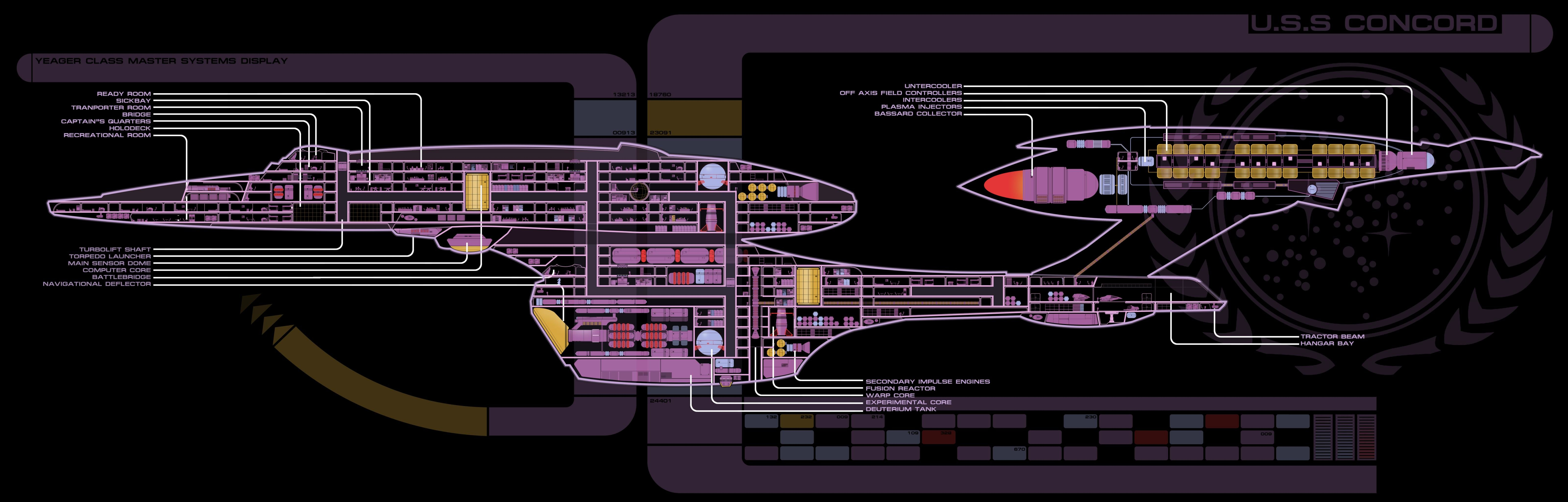 Awesome Star Trek free wallpaper ID:388443 for dual monitor 6400x2048 computer