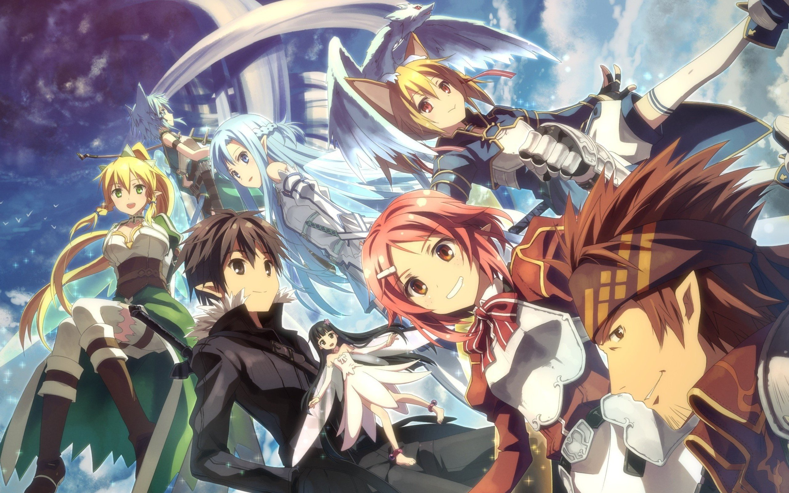 Best Sword Art Online 2 (II) wallpaper ID:112255 for High Resolution hd 2560x1600 desktop
