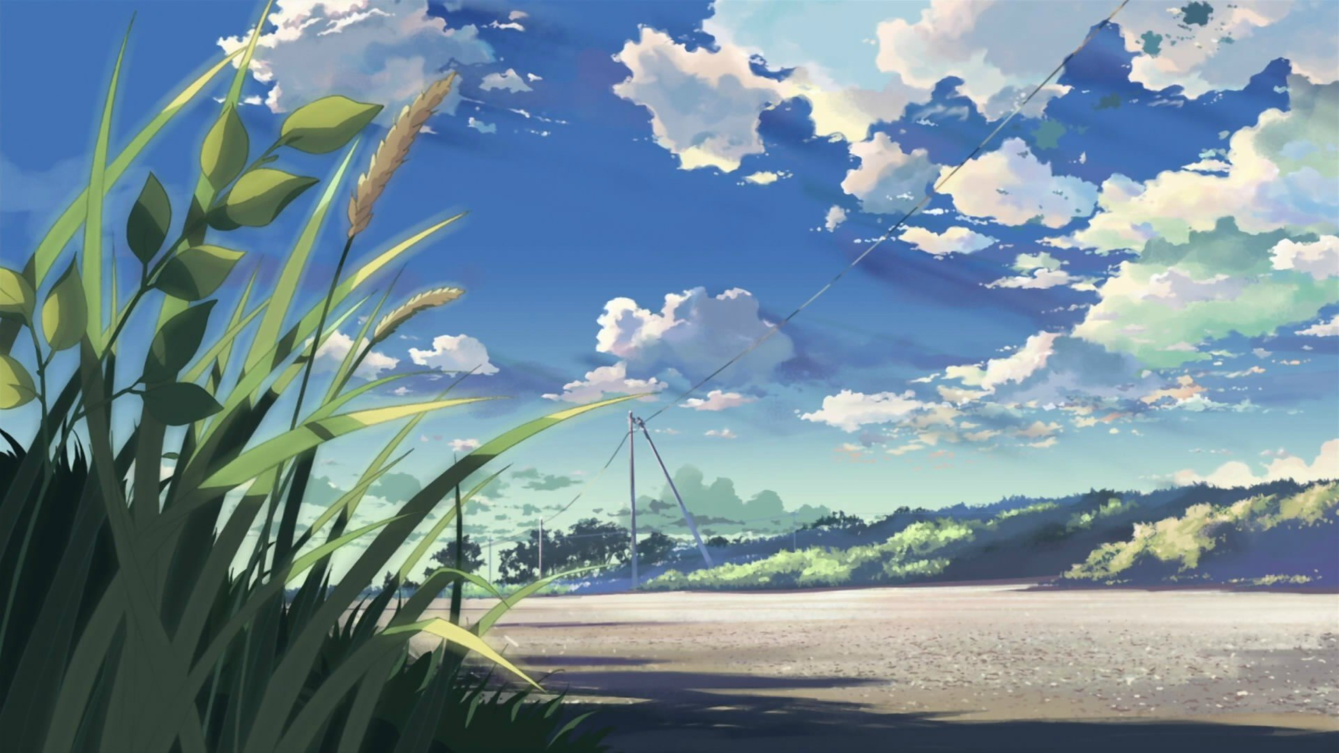 Best 5 (cm) Centimeters Per Second background ID:90052 for High Resolution full hd 1080p PC