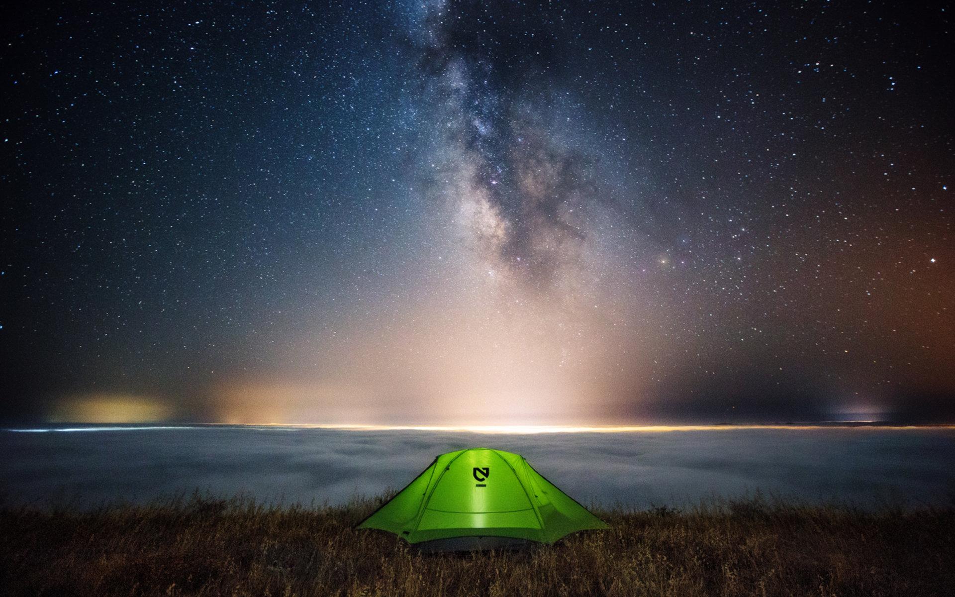 Free Camping Desktop Wallpaper