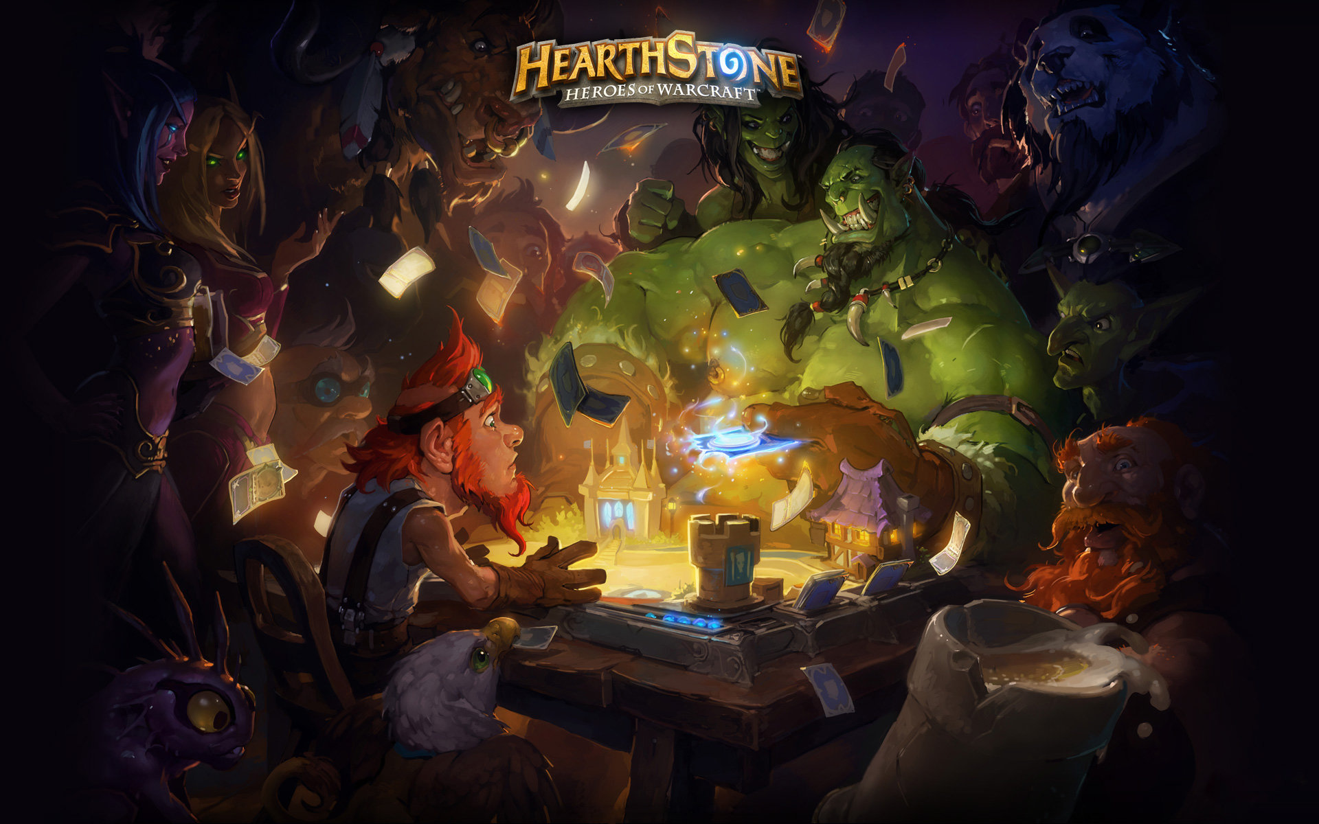 Download hd 1920x1200 Hearthstone computer background ID:84011 for free