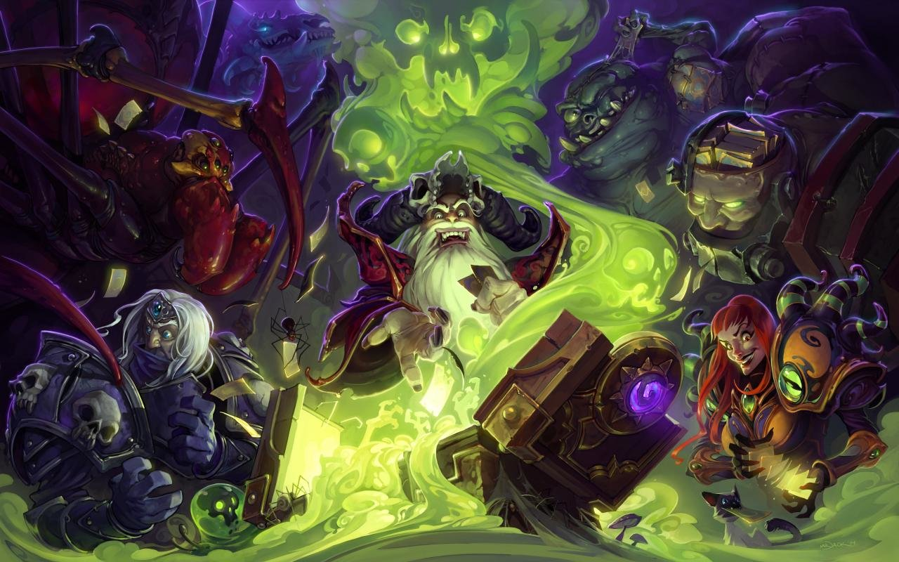 Download hd 1280x800 Hearthstone PC wallpaper ID:84019 for free