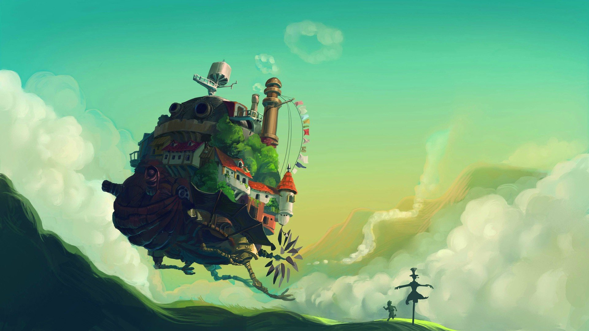 Free Howl's Moving Castle high quality background ID:347859 for full hd computer