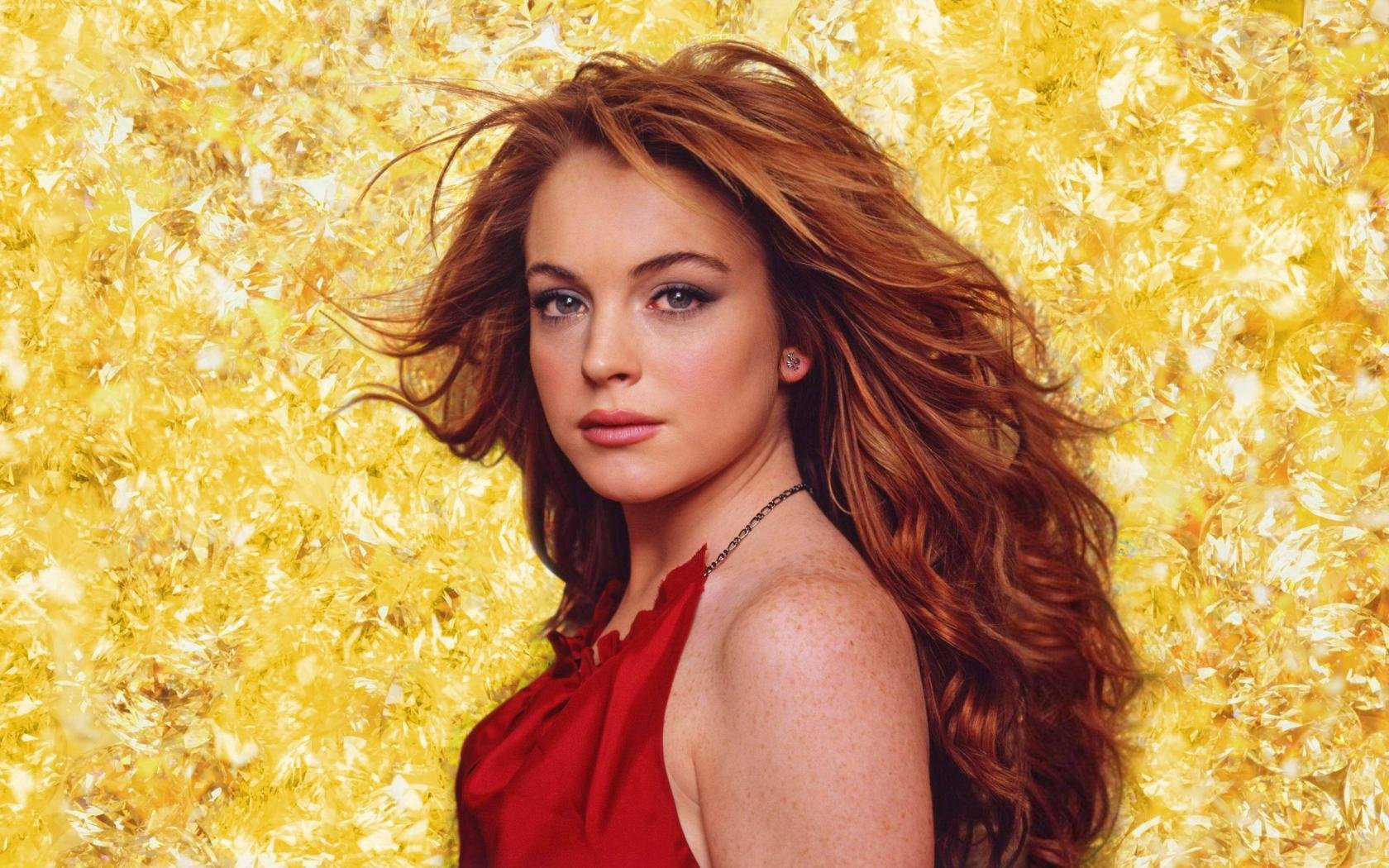 Awesome Lindsay Lohan free background ID:290174 for hd 1680x1050 PC