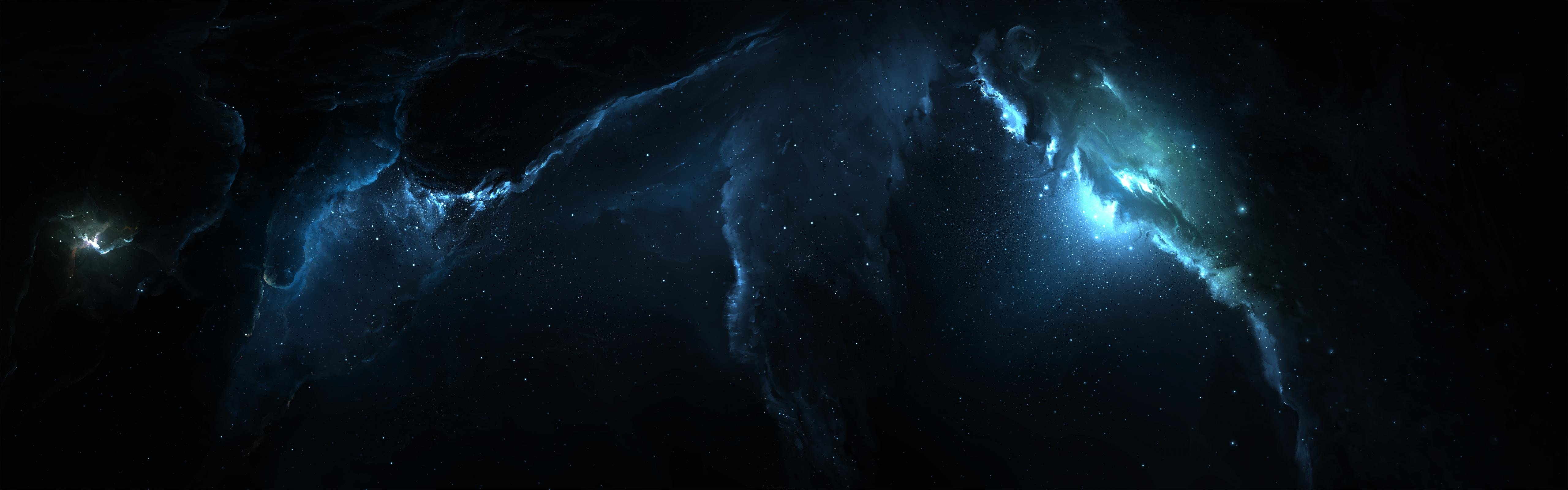 Free download Nebula wallpaper ID:91521 dual monitor 5120x1600 for desktop